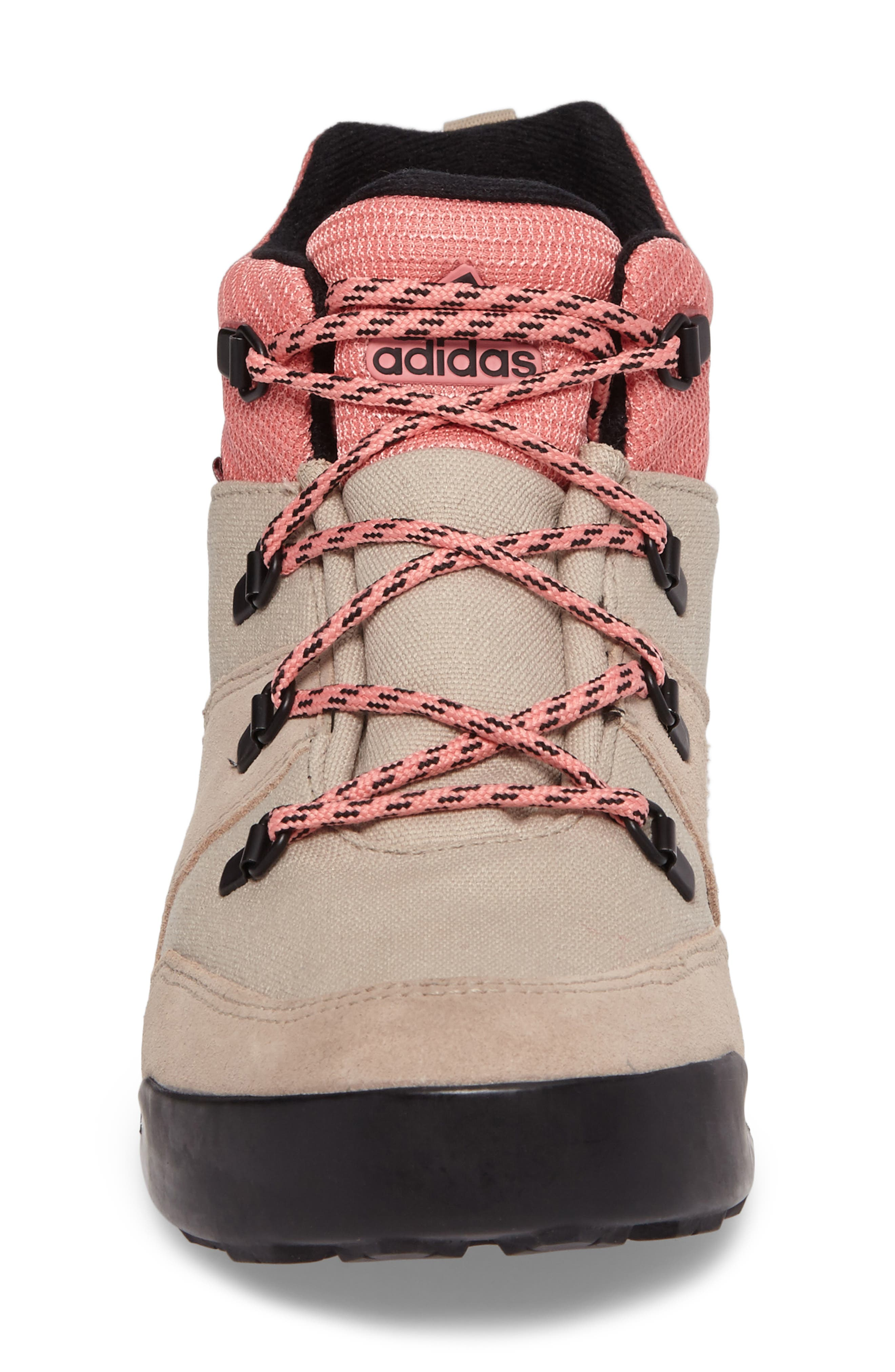 Snowpitch Insulated Sneaker Boot,                             Alternate thumbnail 4, color,                             Icey Pink/ Khaki/ Energy Pink