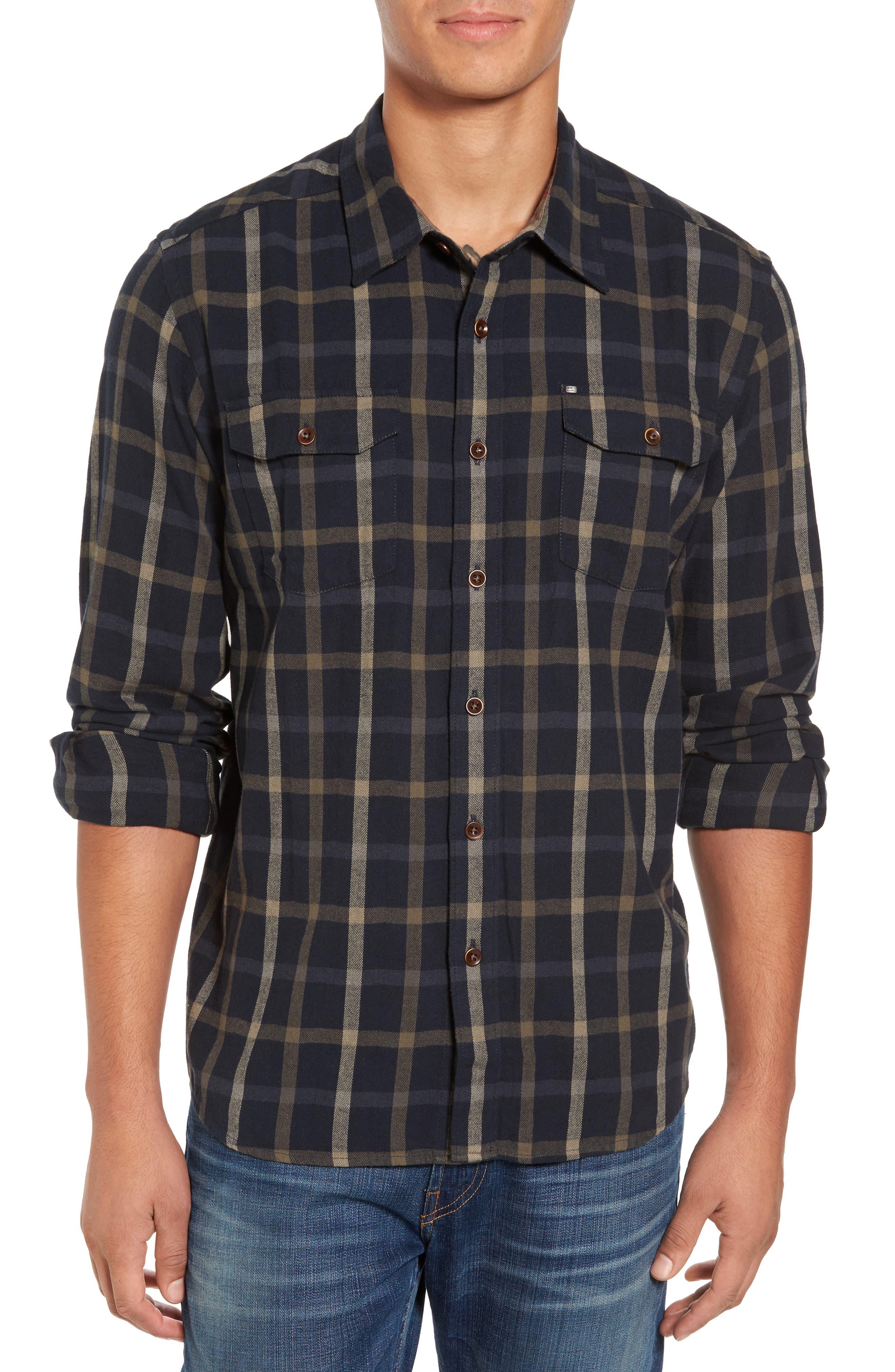 Alternate Image 1 Selected - Cova El Moro Regular Fit Plaid Flannel Shirt