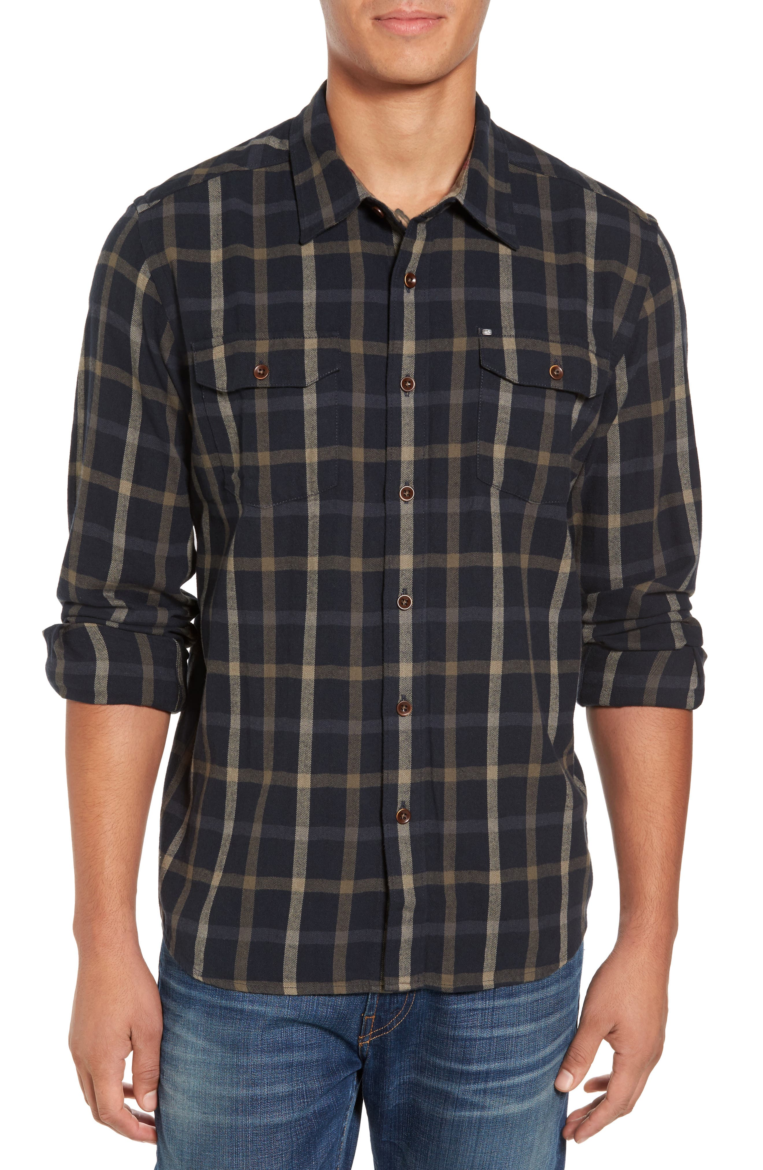 Main Image - Cova El Moro Regular Fit Plaid Flannel Shirt