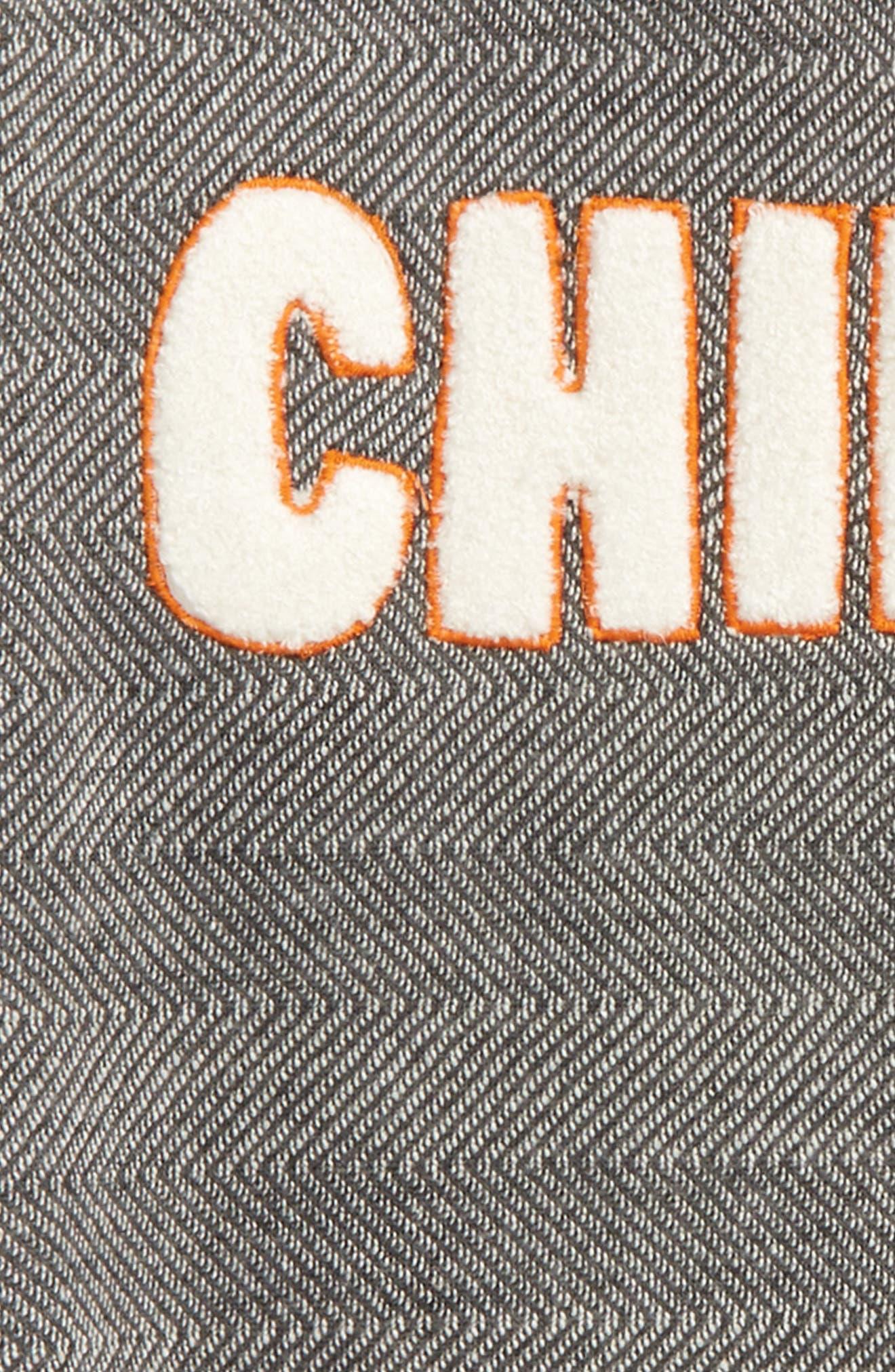 Fleece Sweatshirt,                             Alternate thumbnail 2, color,                             Grey Castlerock Chill