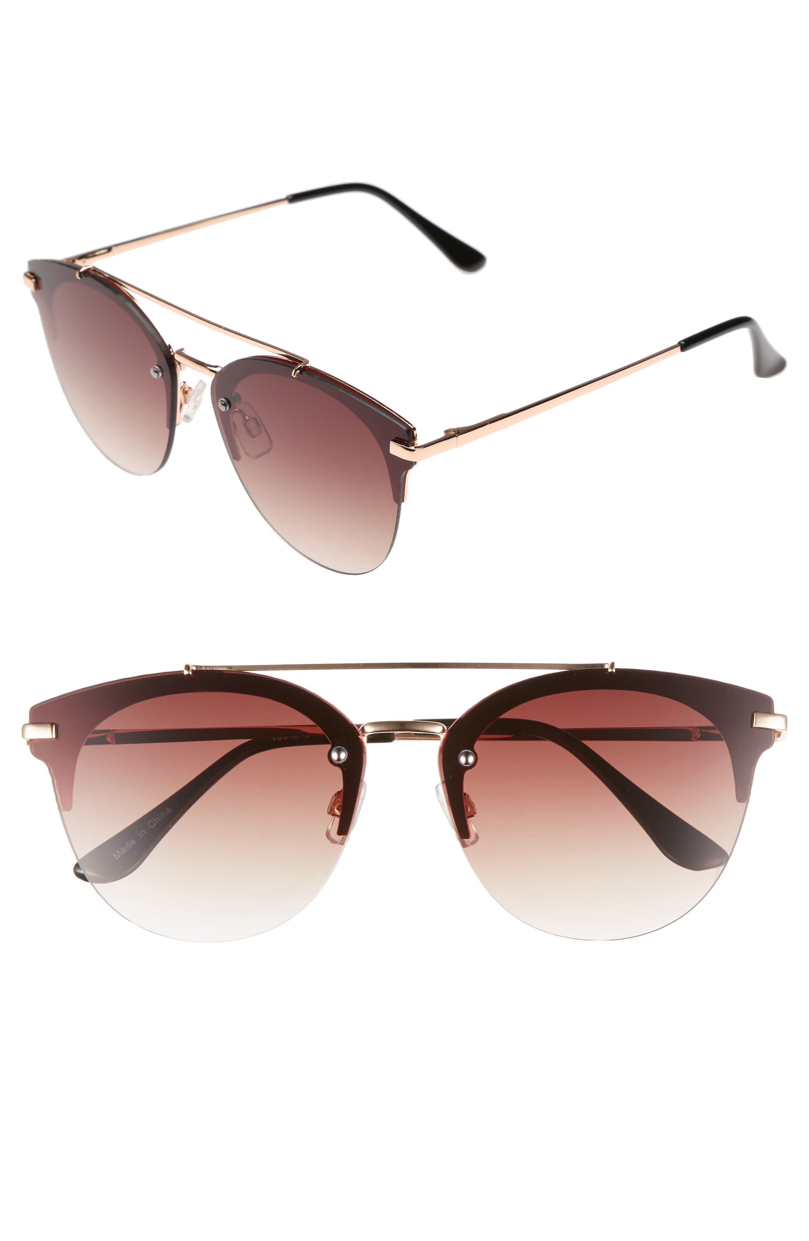 BP. Gradient Winged Sunglasses