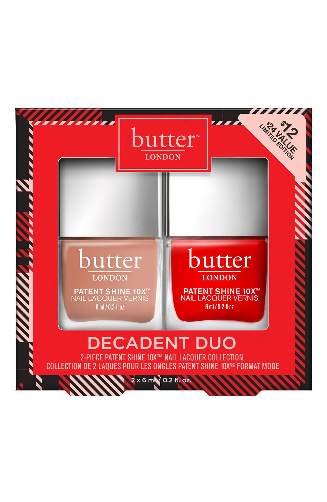 Alternate Image 1 Selected - butter LONDON Decadent Duo (Nordstrom Exclusive) ($24 Value)