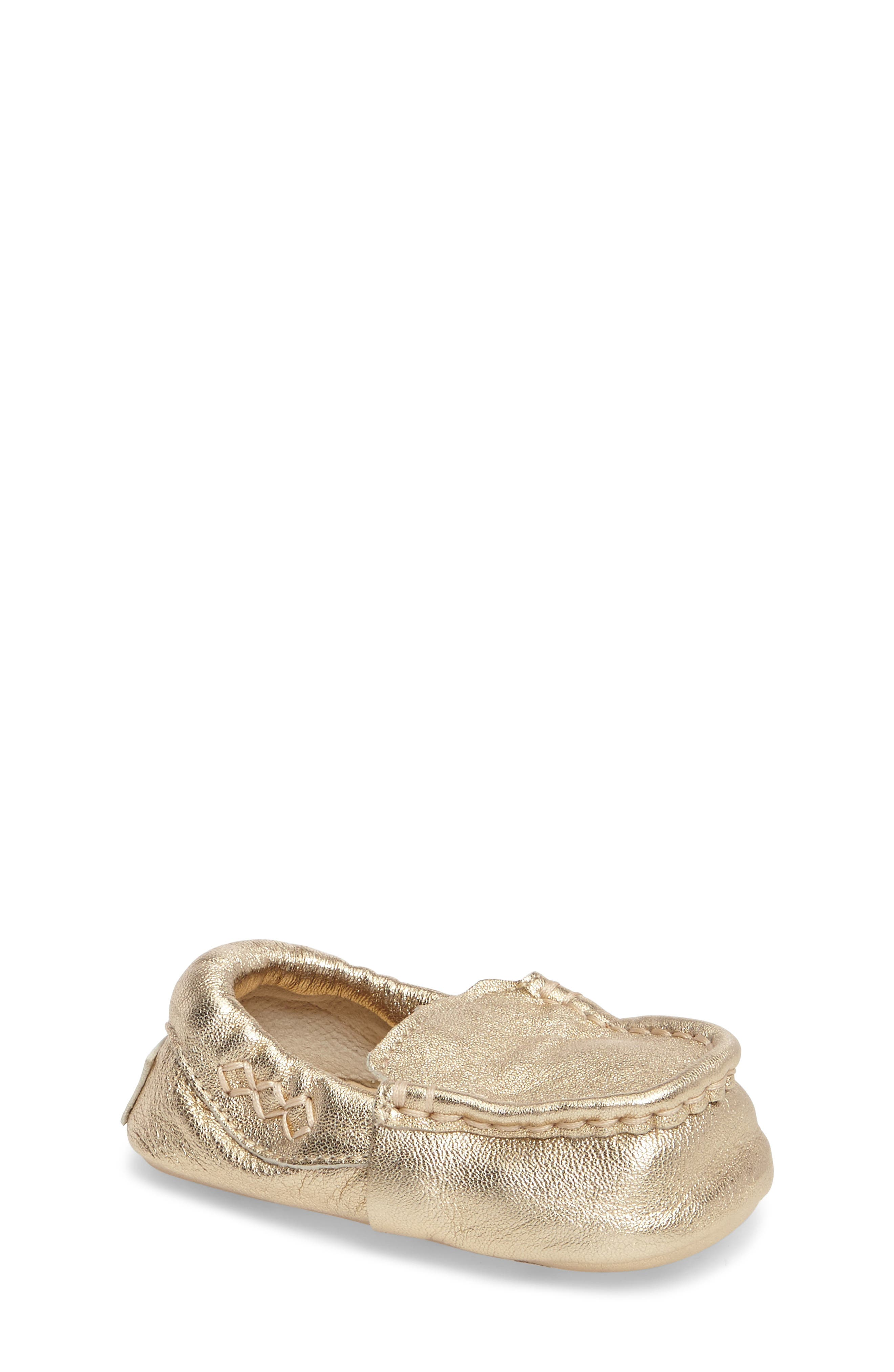Sivia Metallic Loafer,                         Main,                         color, Gold