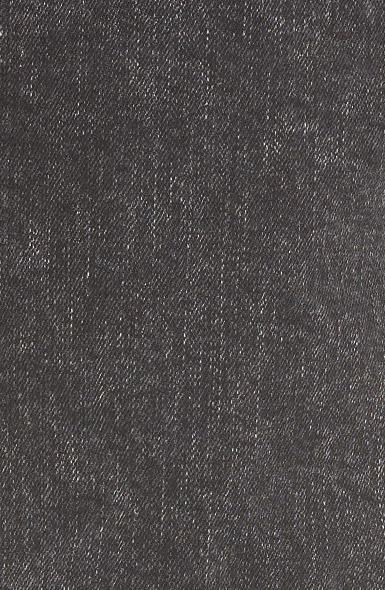 Alternate Image 5  - Dr. Denim Supply Co. Snap Skinny Fit Jeans (Acid Black)
