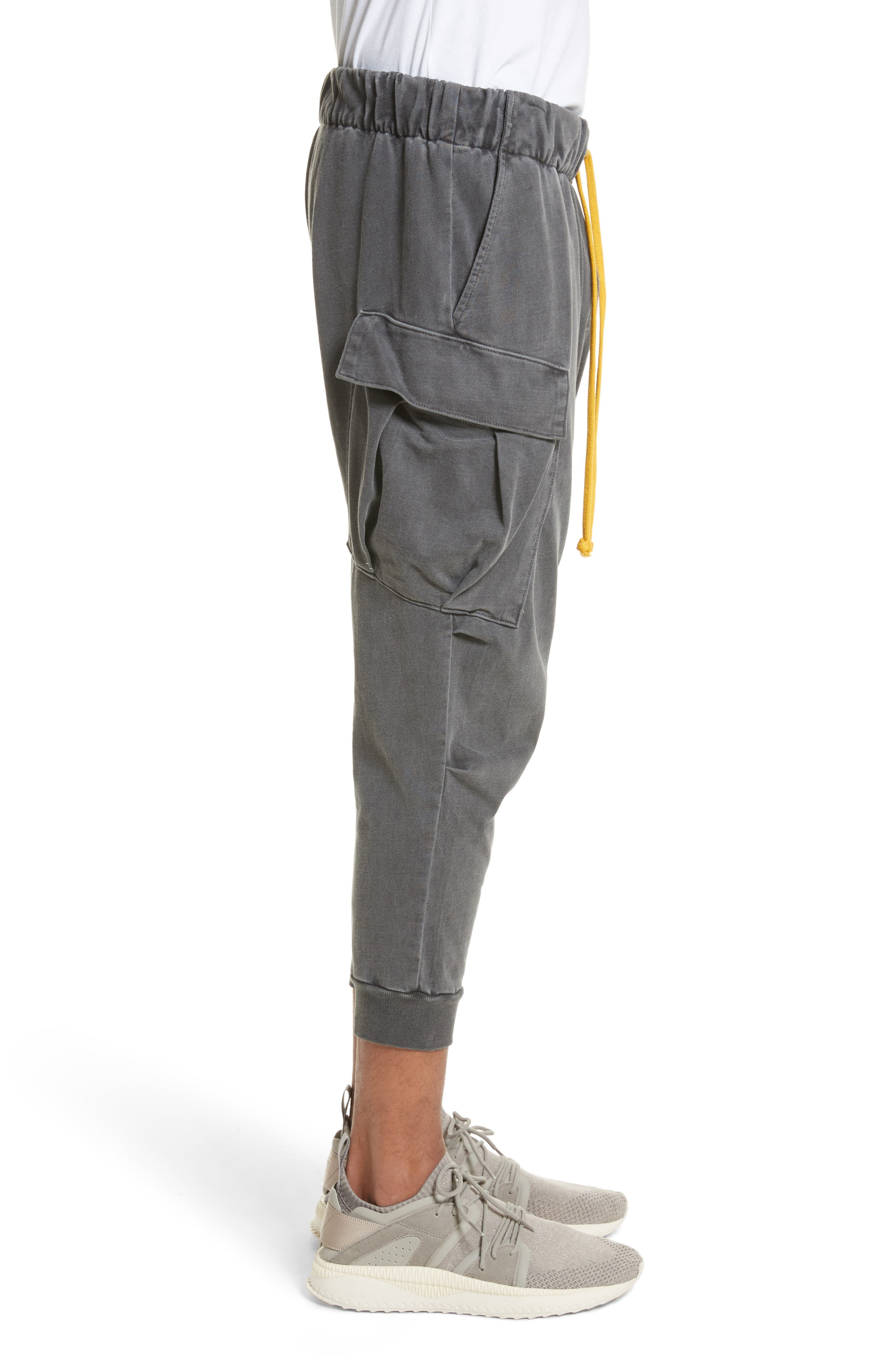 Alternate Image 3  - Drifter Geri Cropped Jogger Cargo Pants