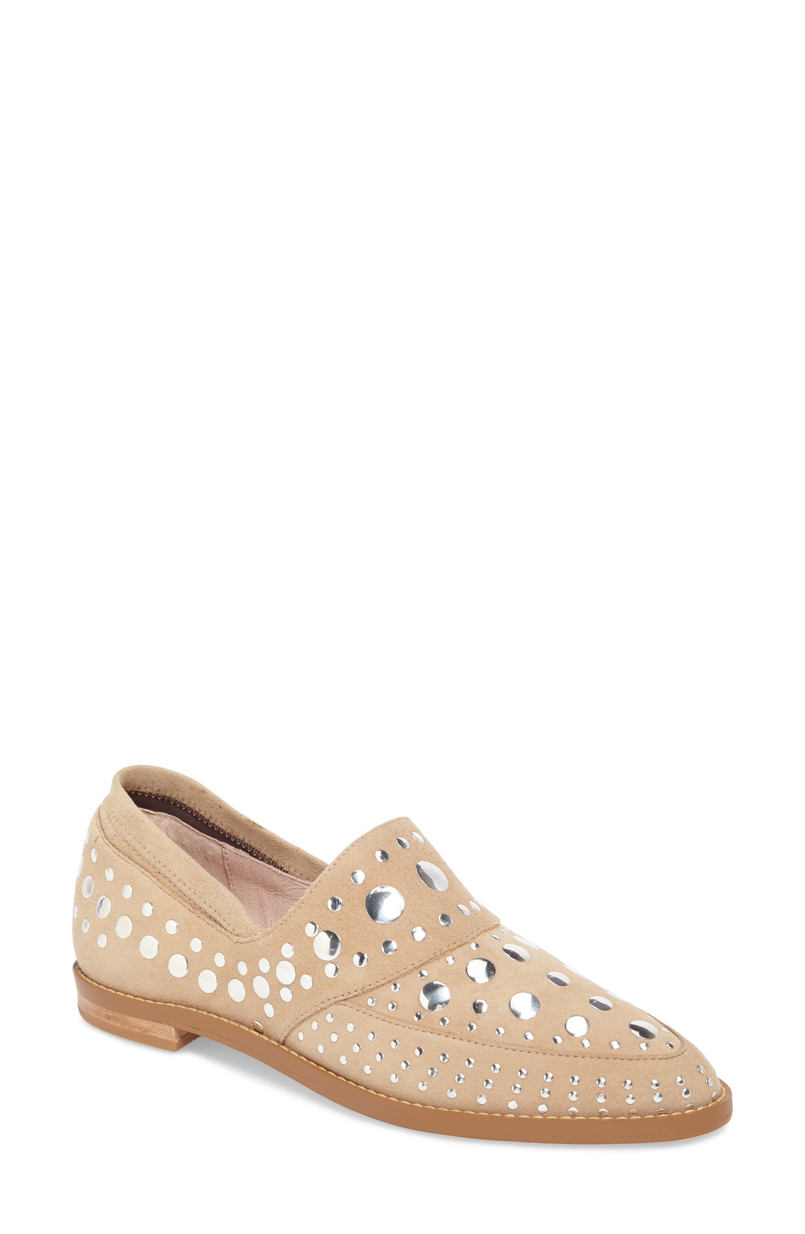 Alternate Image 1 Selected - Cecelia New York Ping Studded Loafer (Women)