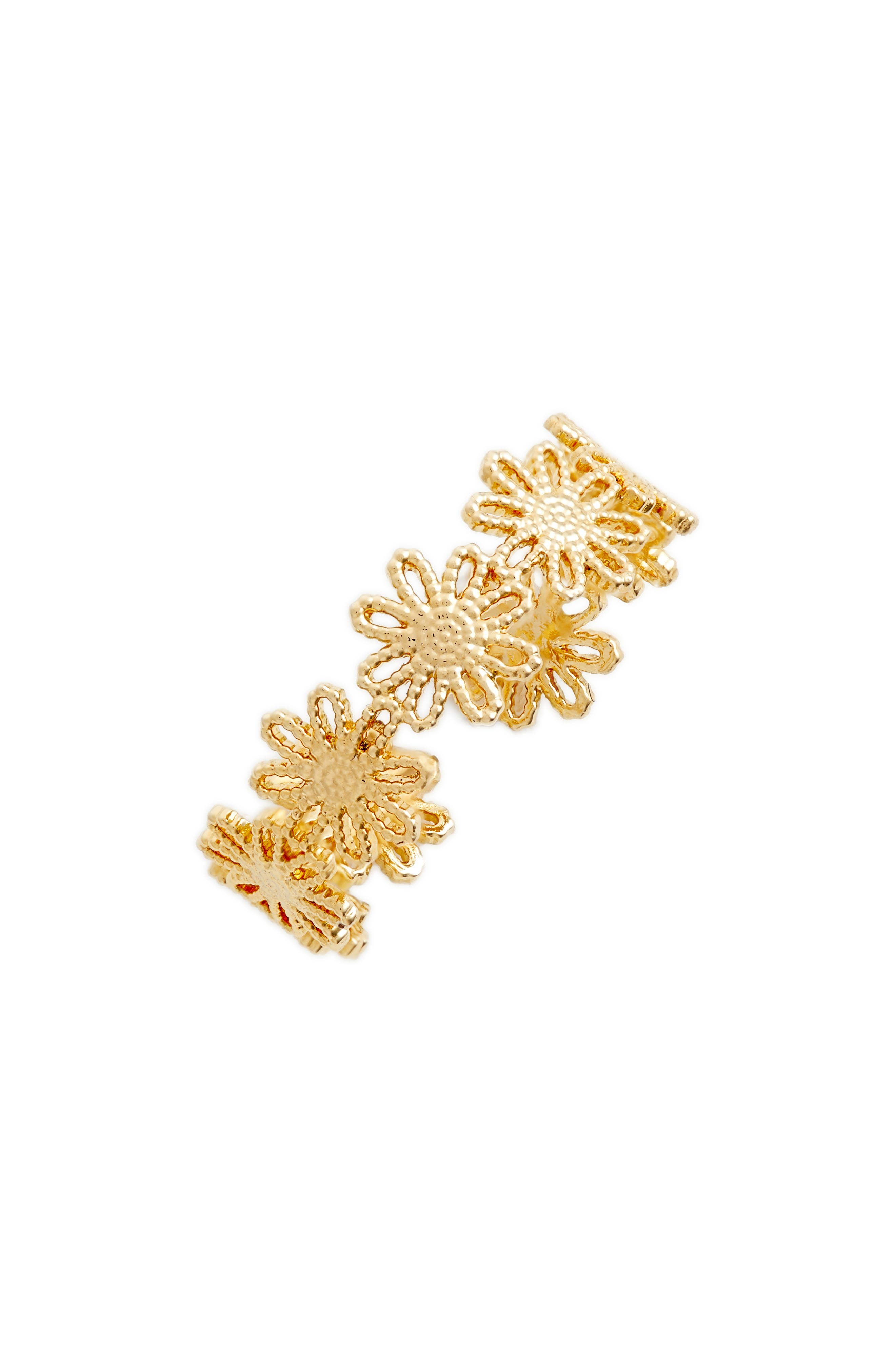 Peony Ring,                         Main,                         color, Gold