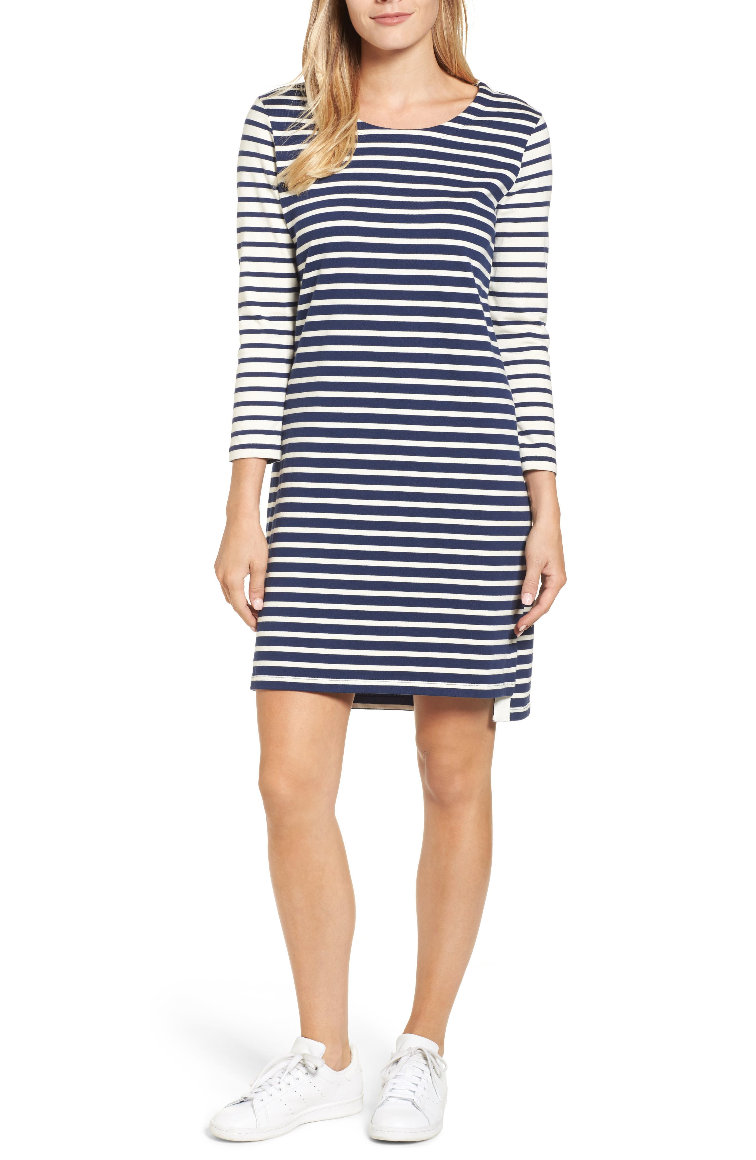 Main Image - vineyard vines Mixed Stripe Knit Dress