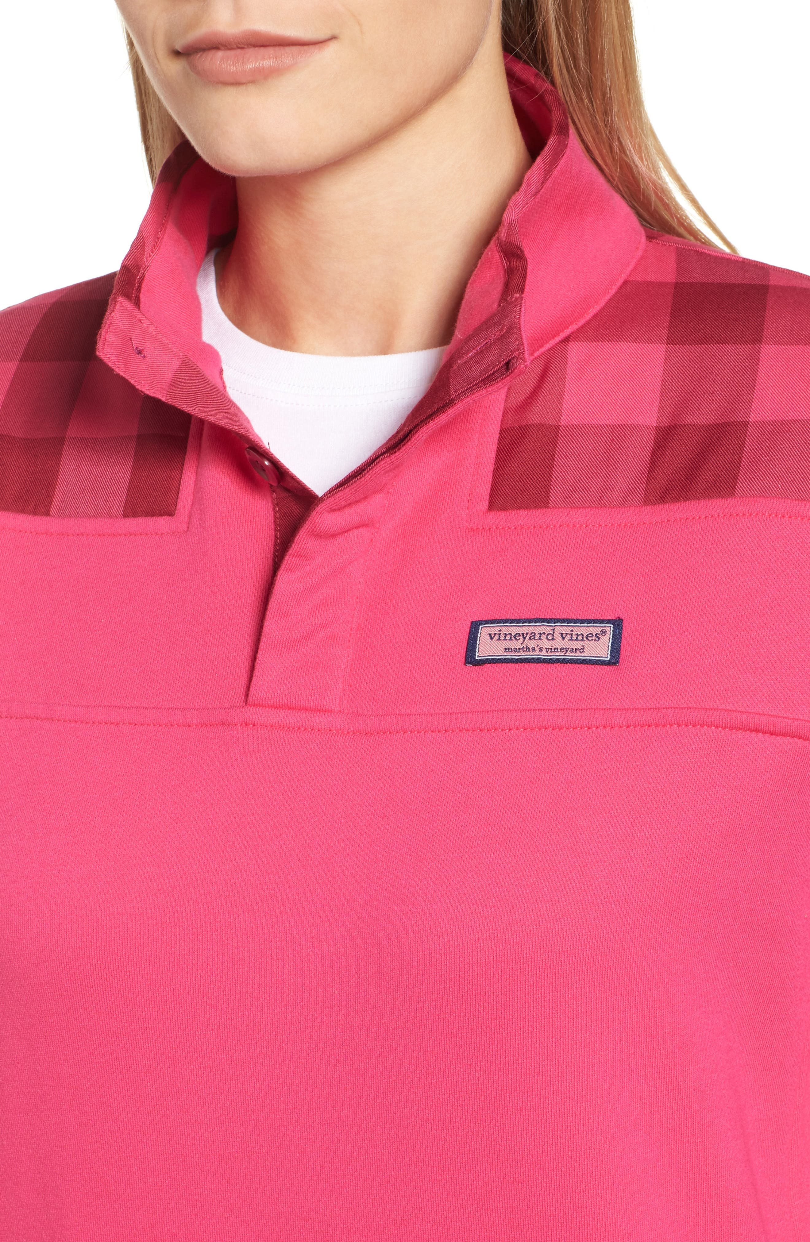 Alternate Image 4  - vineyard vines Buffalo Check Classic Shep Pullover