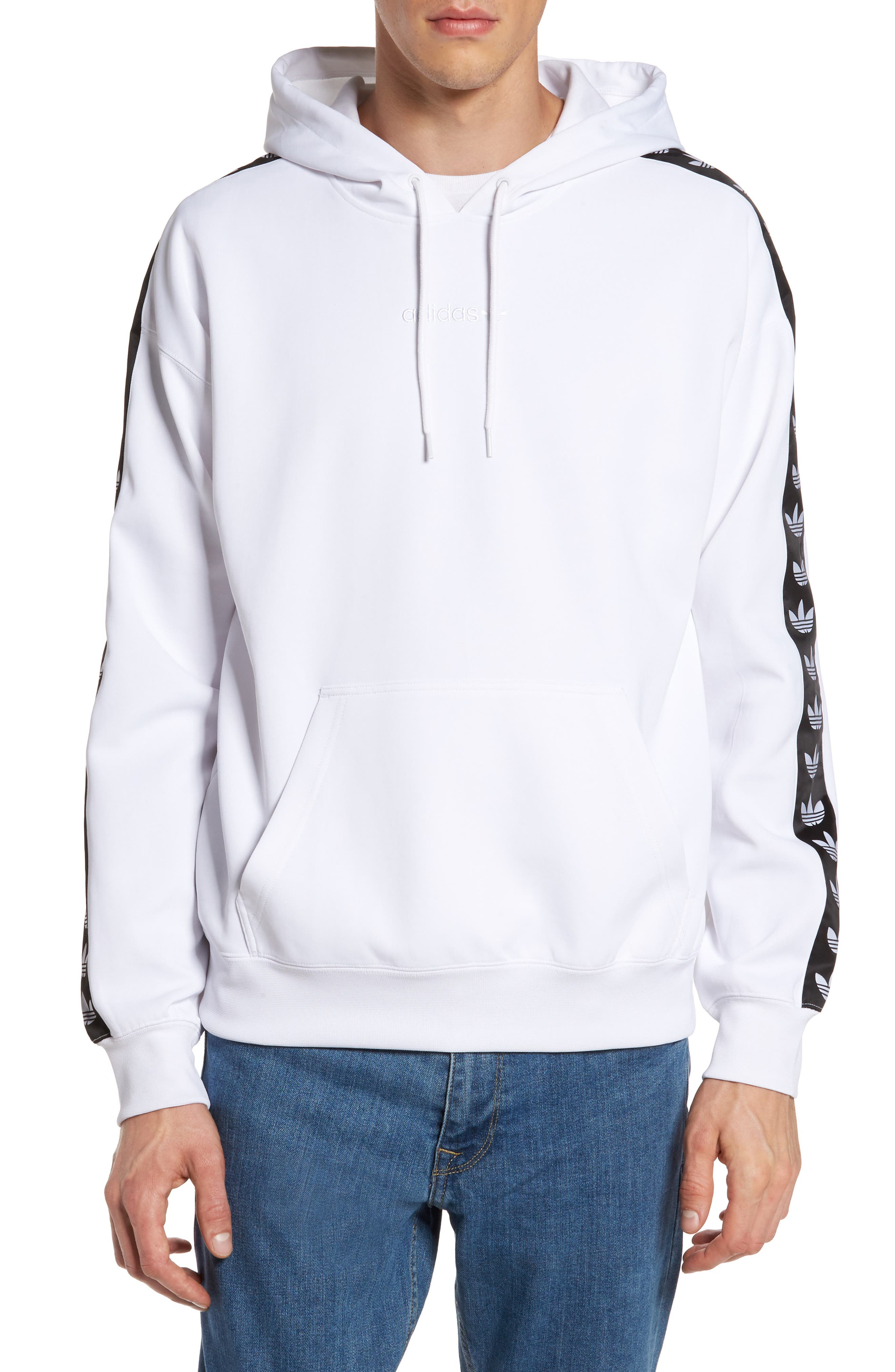 adidas Originals TNT Logo Tape Pullover Hoodie