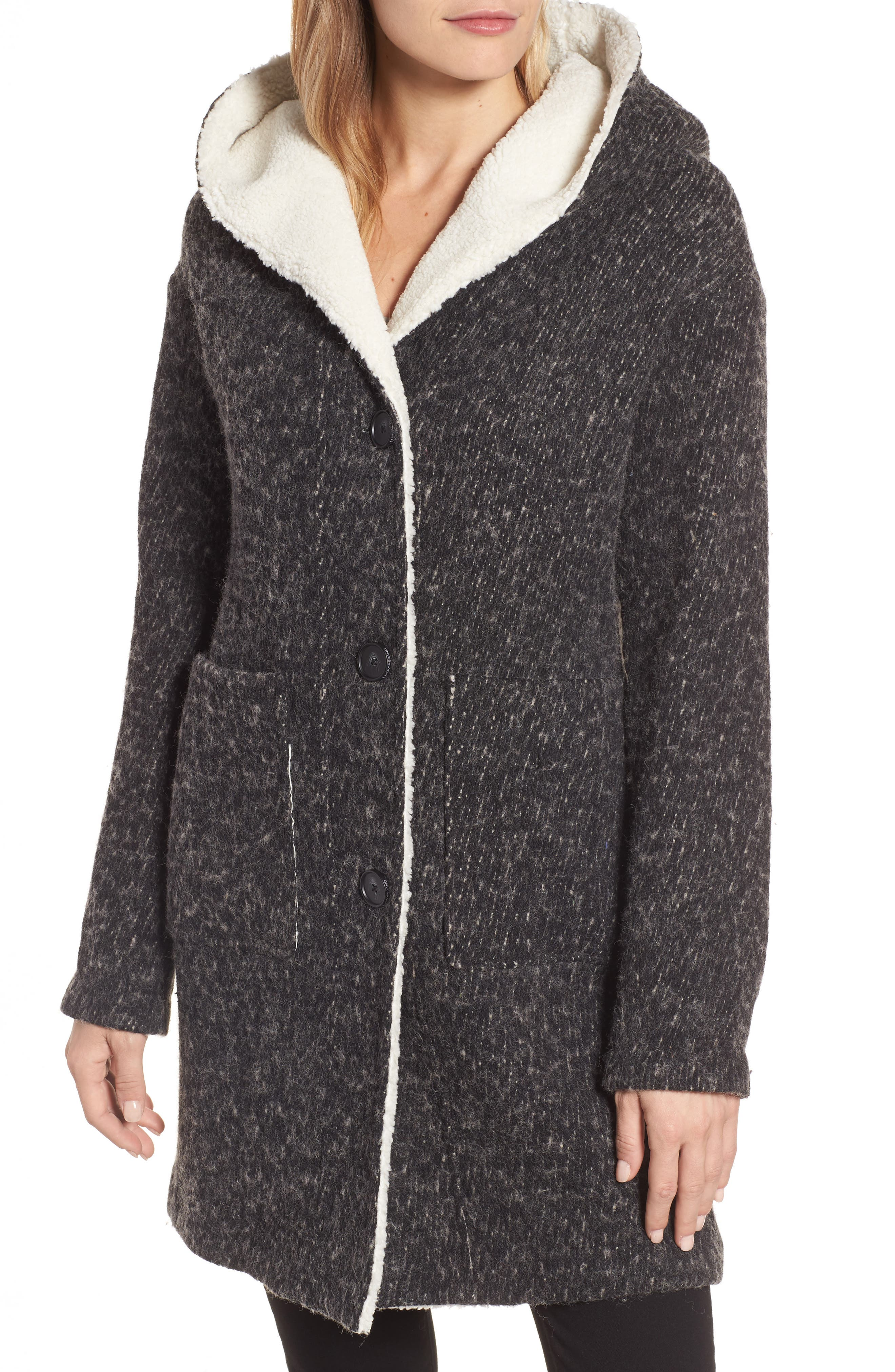 Alternate Image 4  - Lucky Brand Hooded Coat