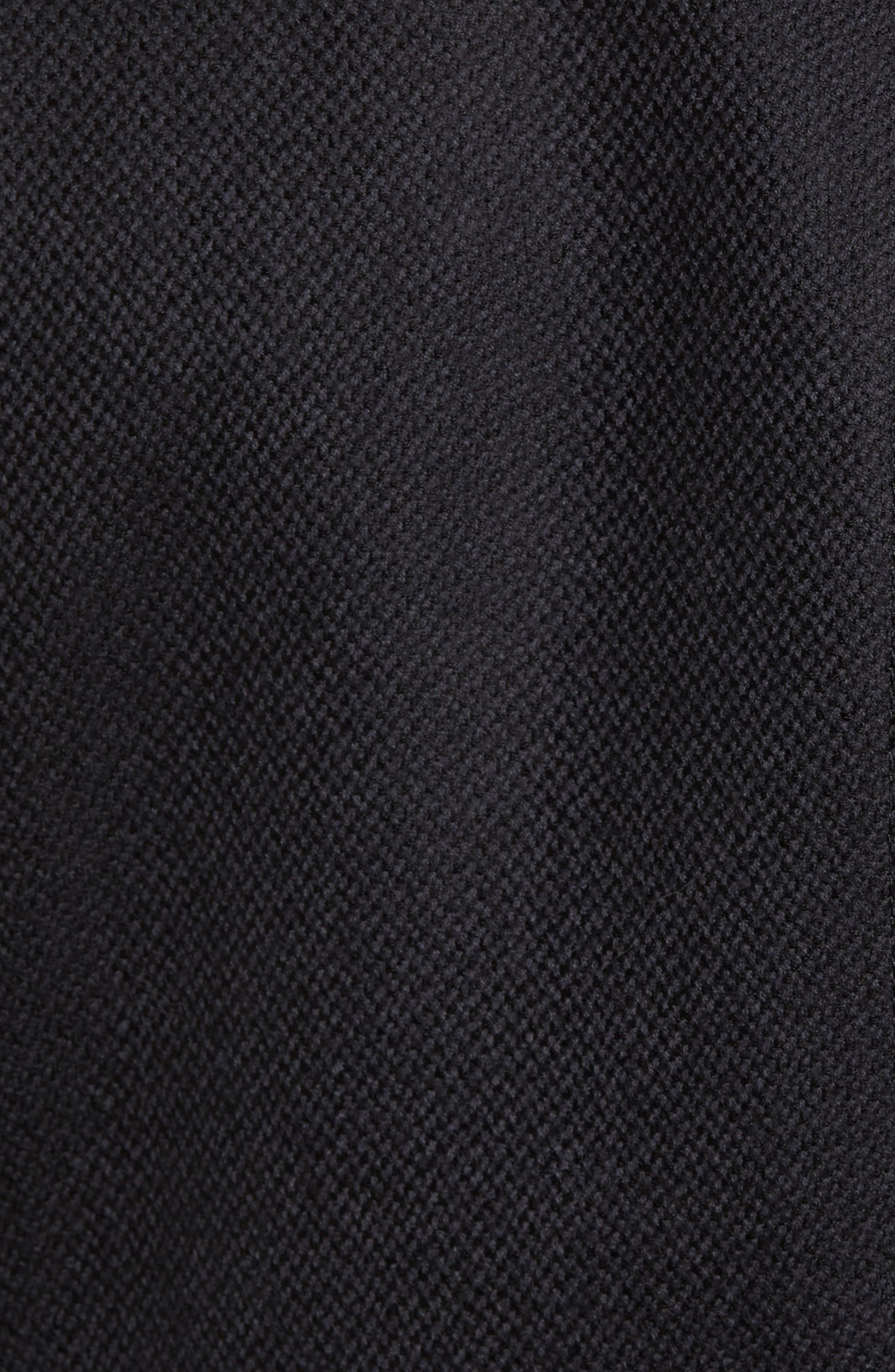 Ritchie Aim Hybrid Classic Fit Wool & Cashmere Sport Coat,                             Alternate thumbnail 5, color,                             Black