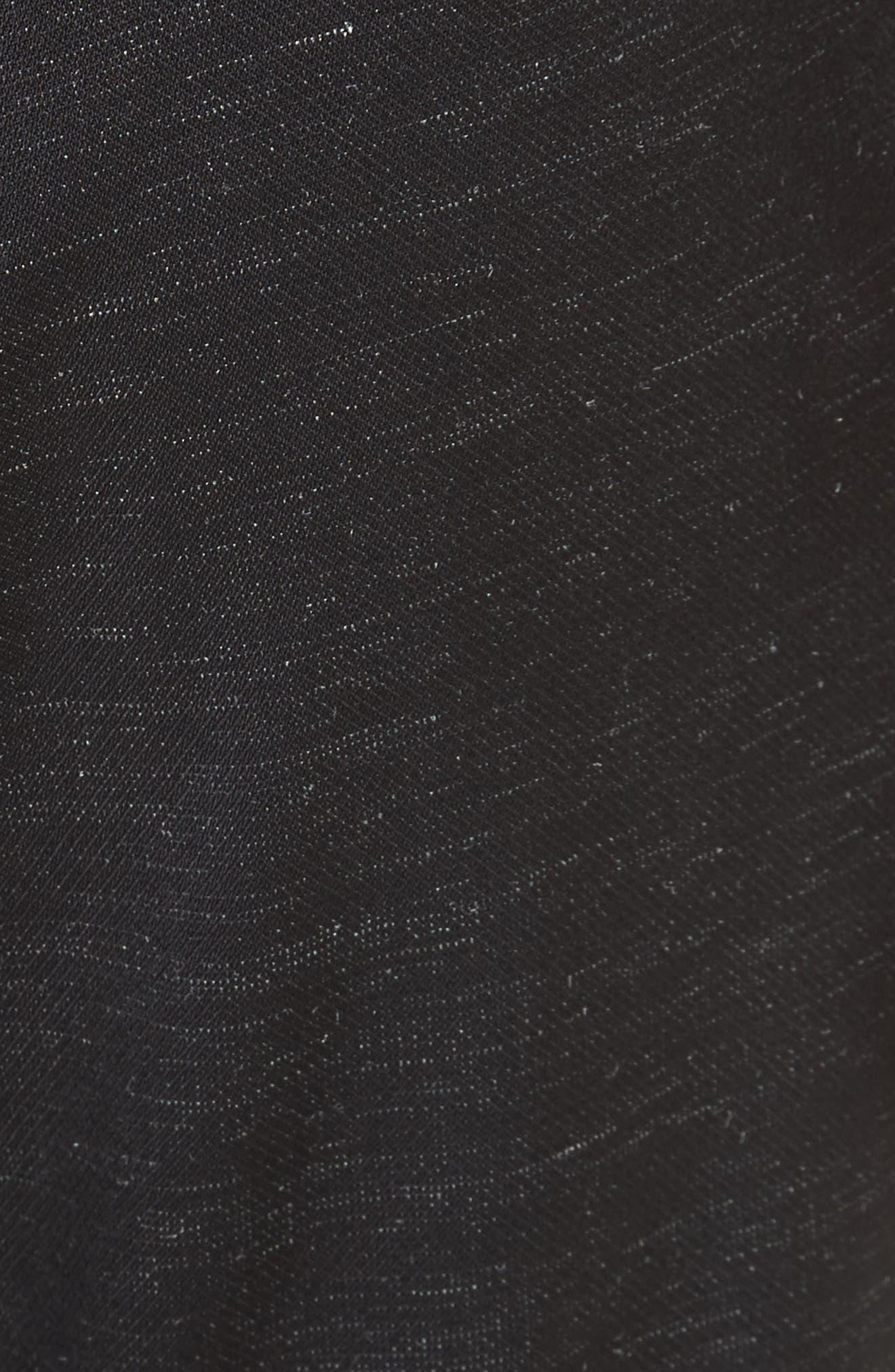 Biker Trousers,                             Alternate thumbnail 6, color,                             Black