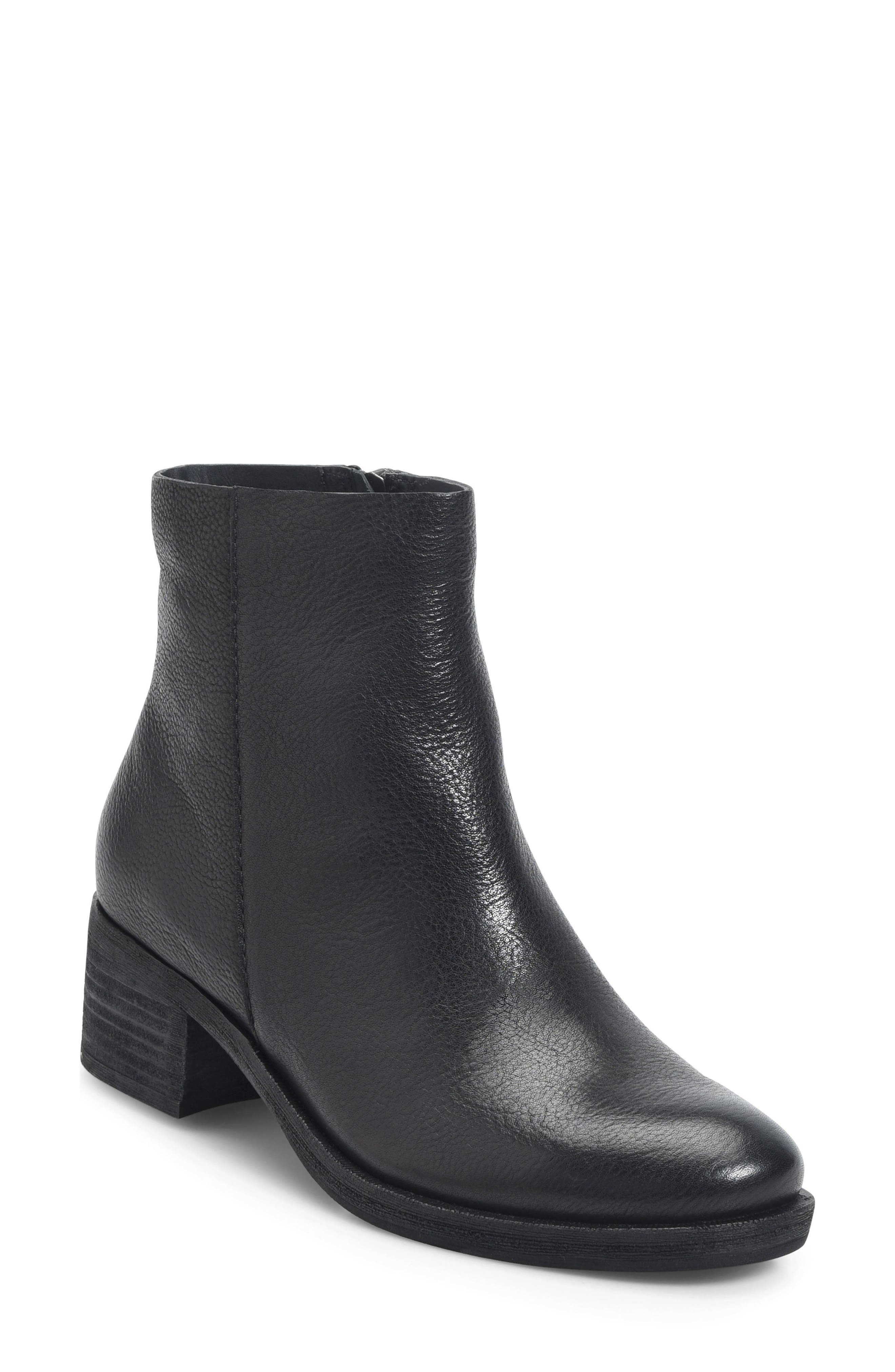Mayten Bootie,                             Main thumbnail 1, color,                             Black Leather