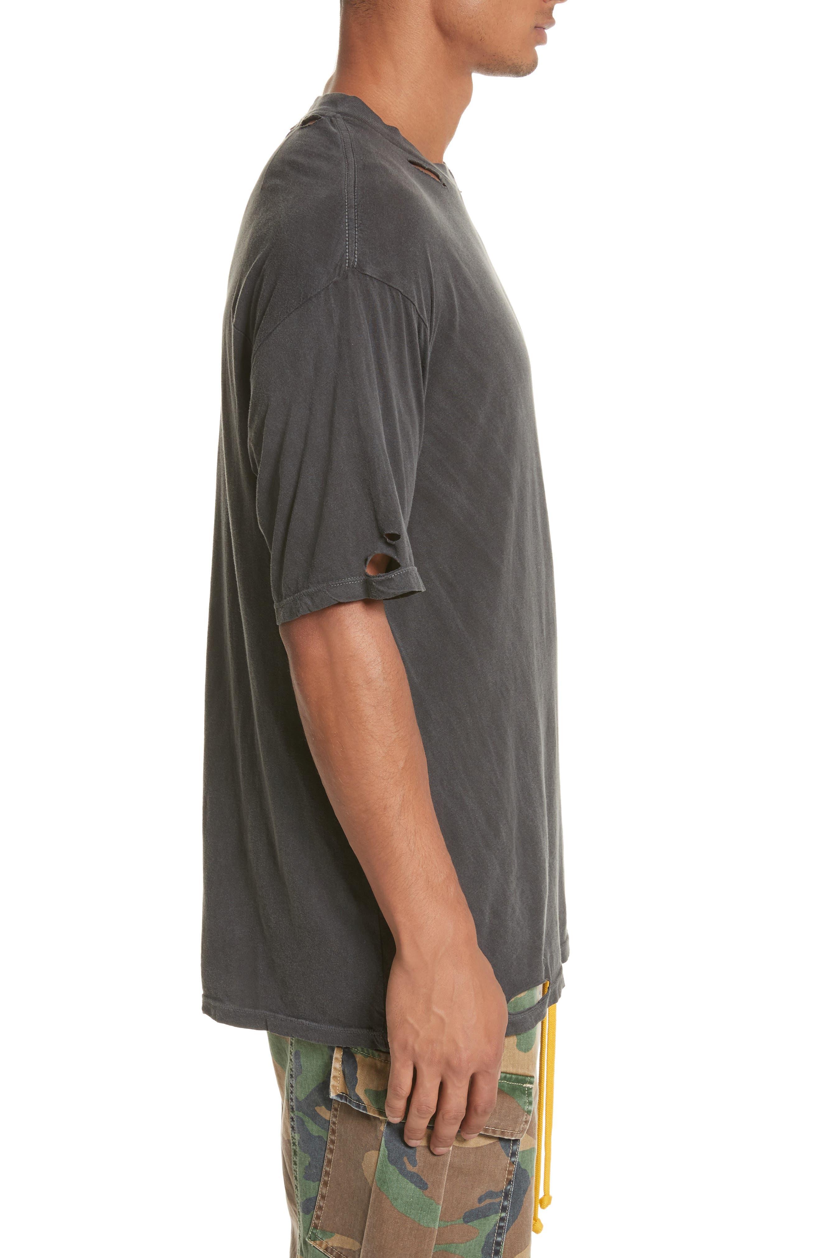 Alternate Image 3  - Drifter Cobain Distressed Oversize T-Shirt