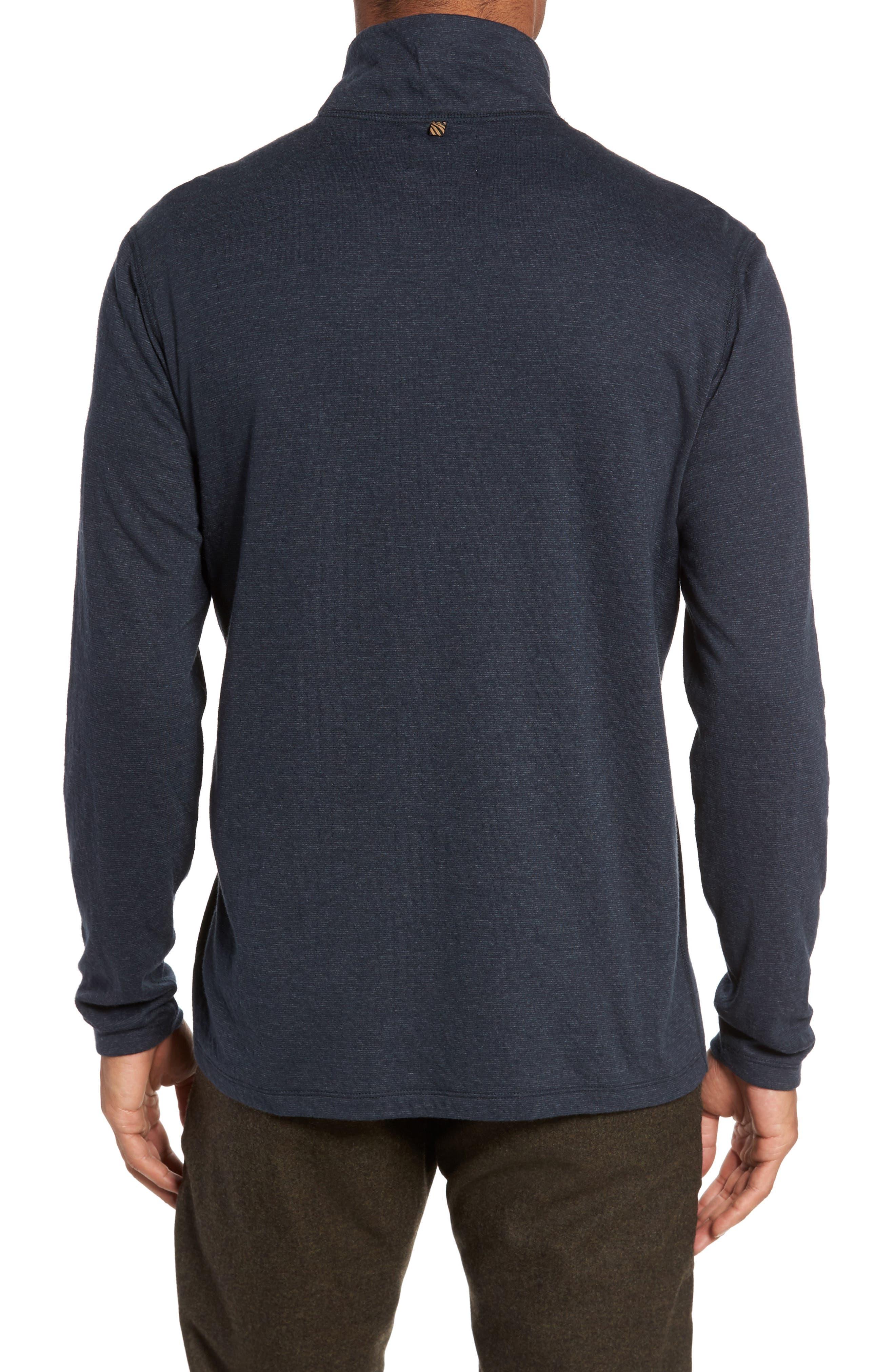 Jordan Quarter Zip Pullover,                             Alternate thumbnail 2, color,                             Carbon Blue