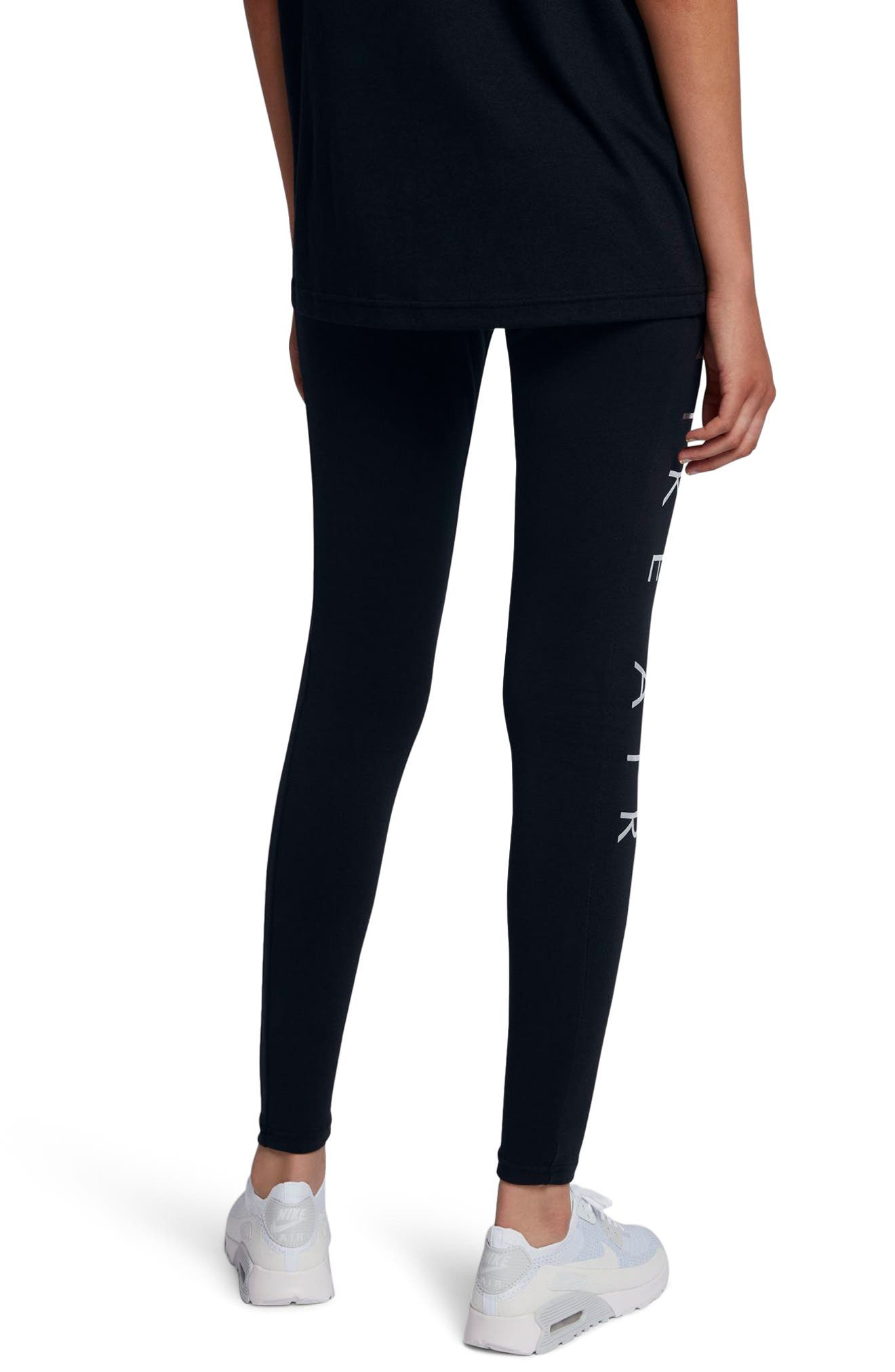 Alternate Image 2  - Nike Women's NSW Air Leggings
