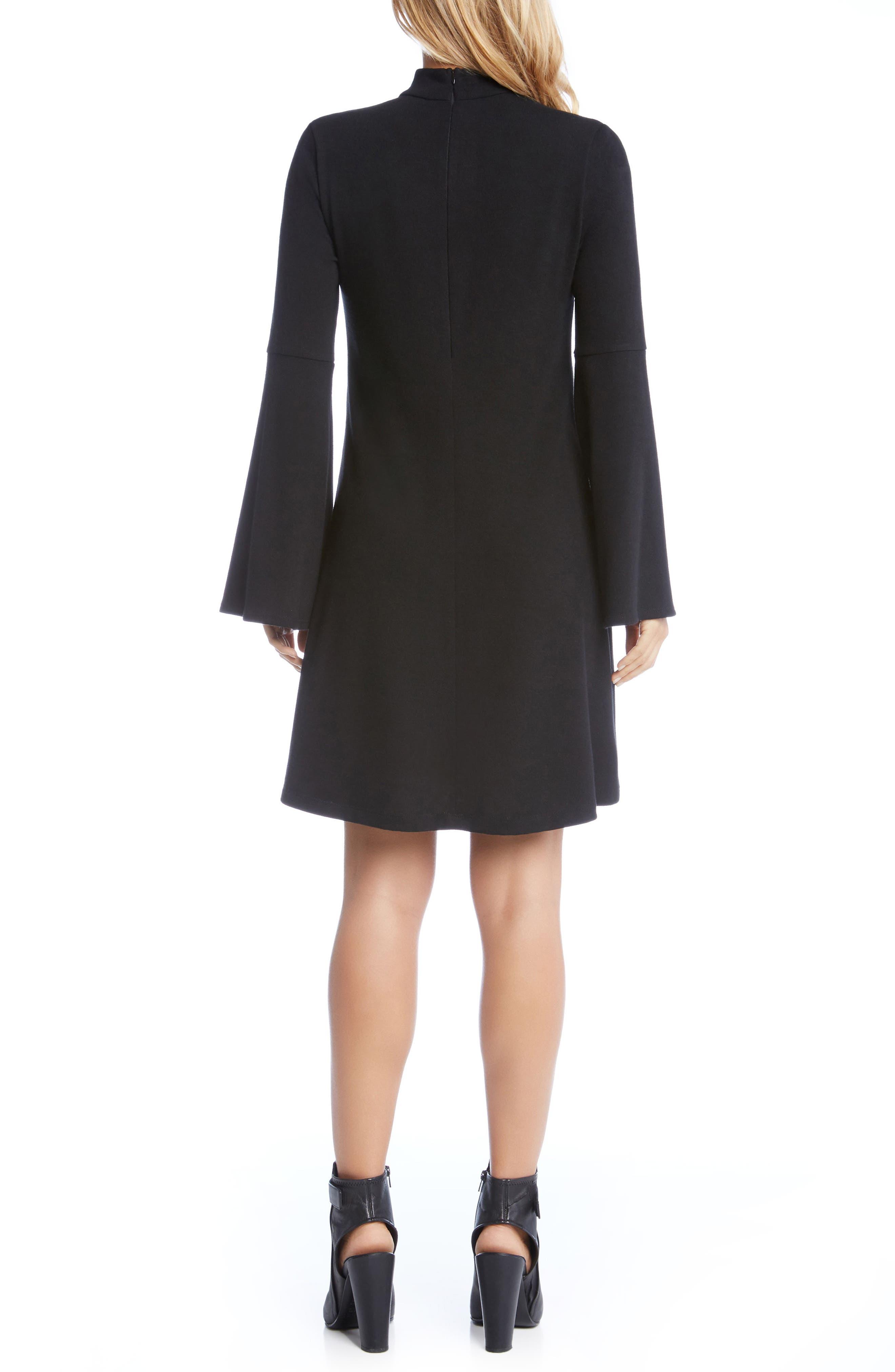 Alternate Image 3  - Karen Kane Taylor Choker Neck Dress