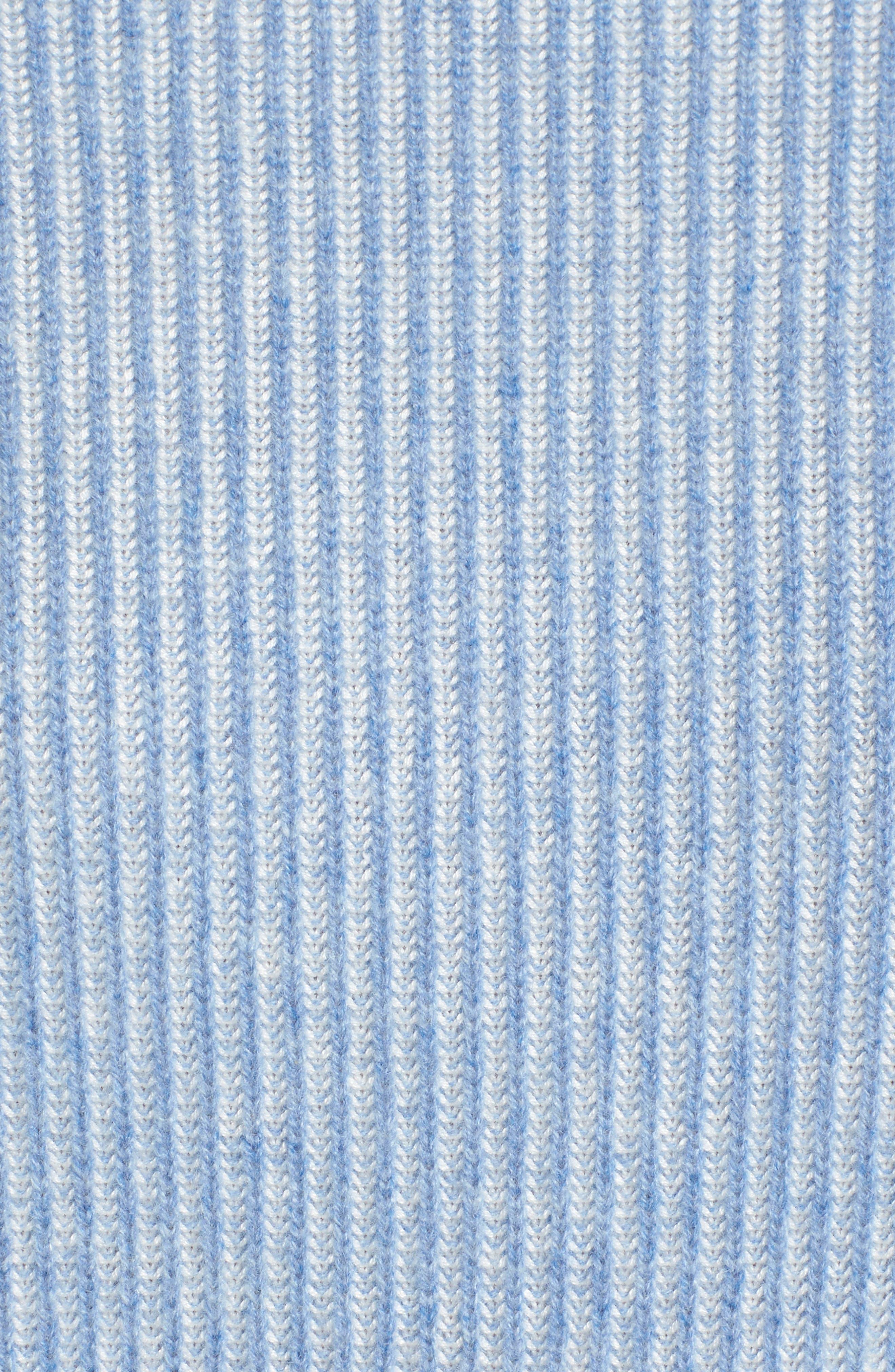 Alternate Image 5  - Nordstrom Signature Cashmere & Silk Blend Plaited Pullover