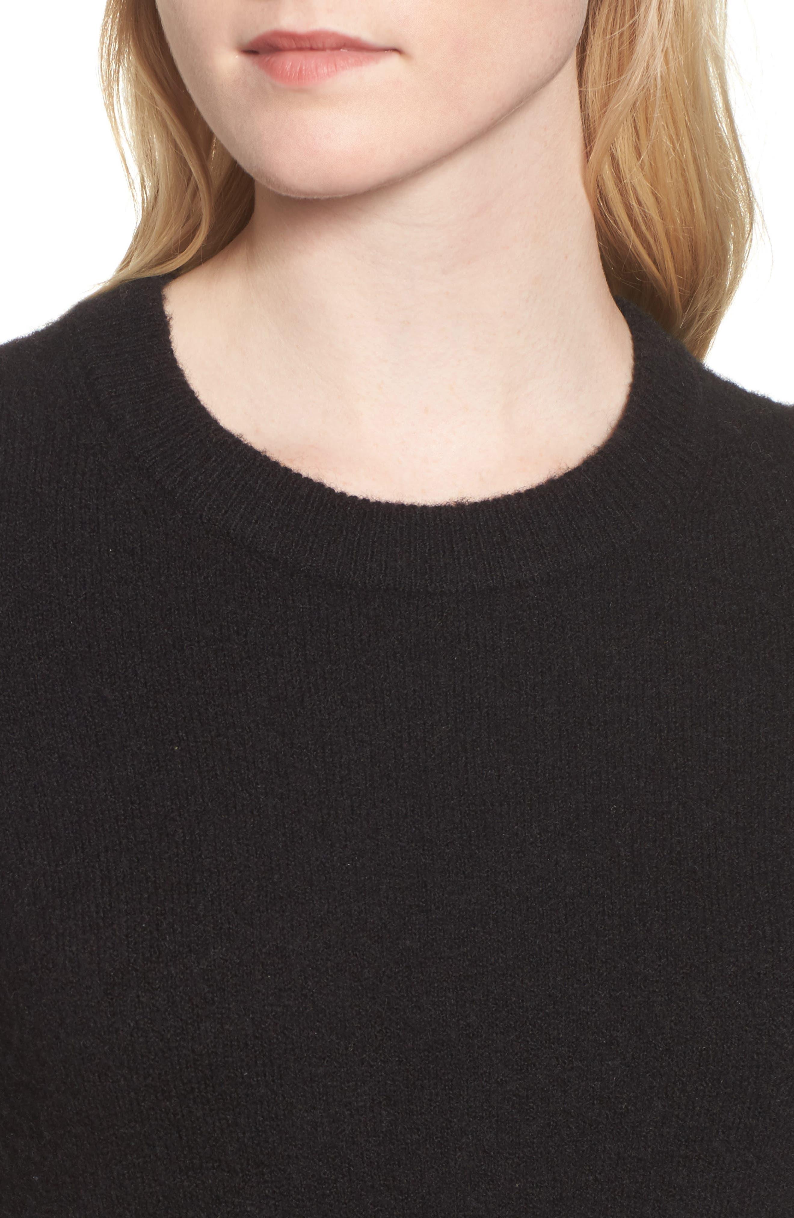 Fremont Colorblock Pullover Sweater,                             Alternate thumbnail 5, color,                             True Black