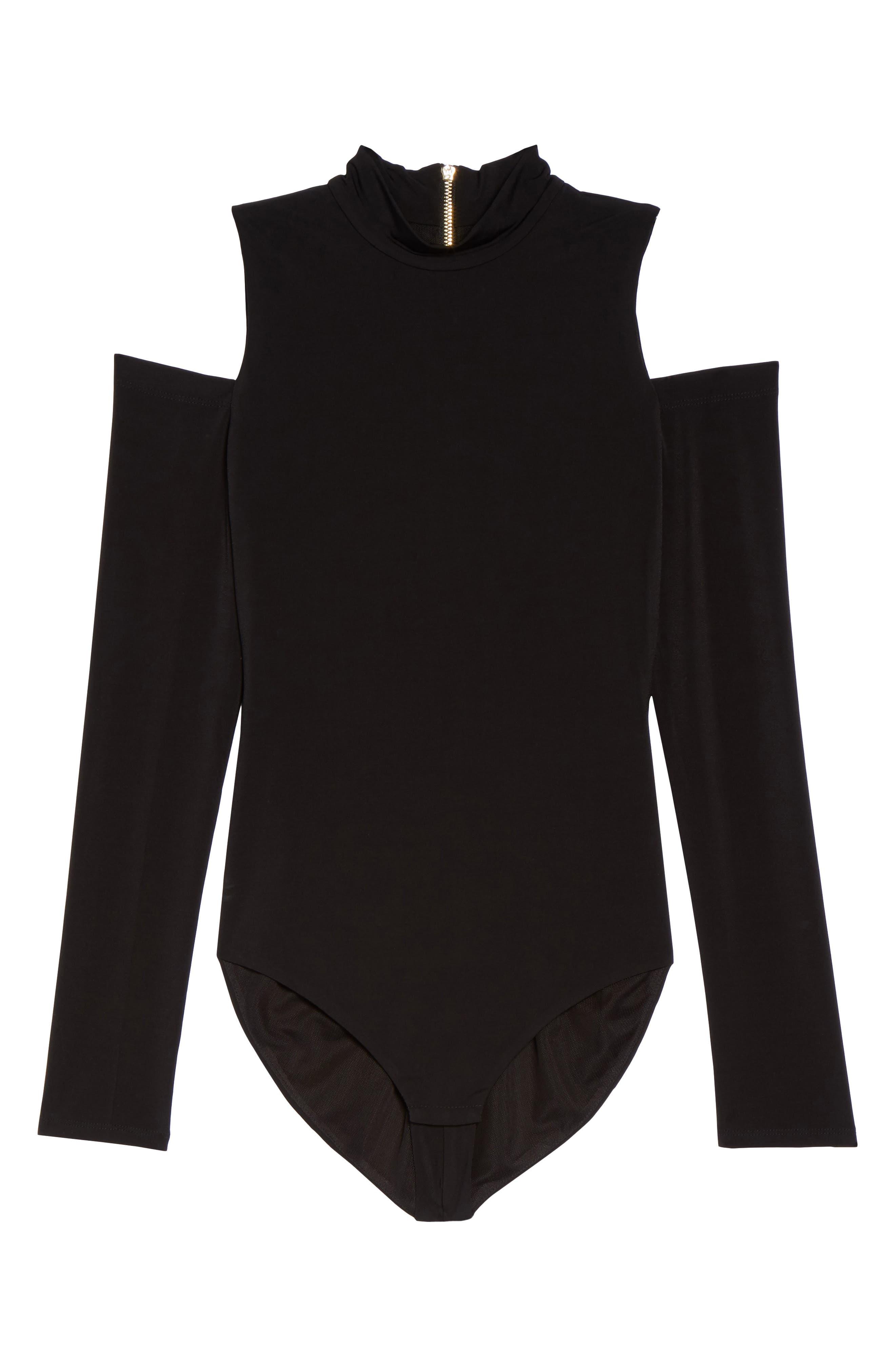 Alternate Image 7  - Eliza J Cold Shoulder Bodysuit