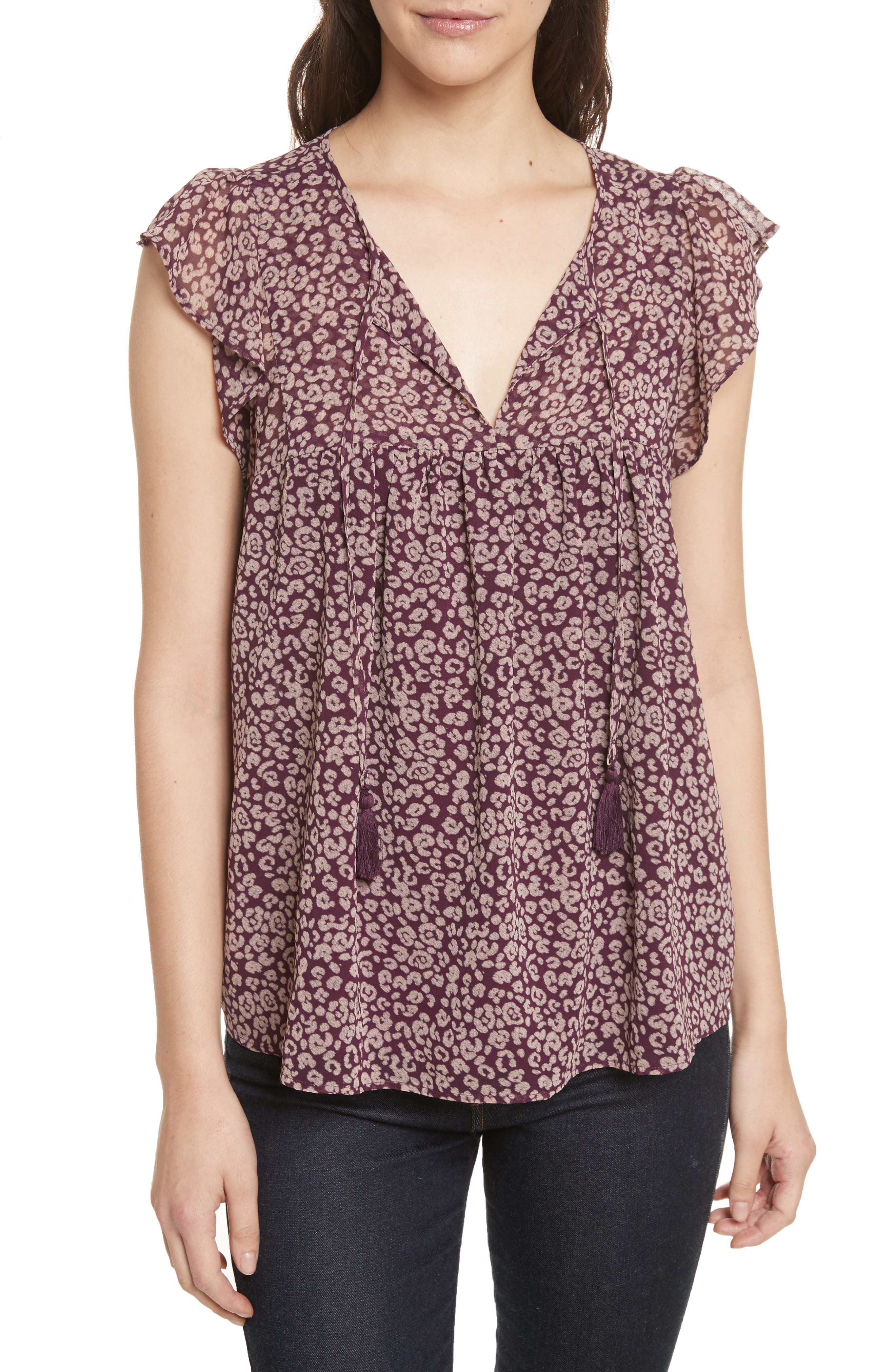 Alternate Image 1 Selected - Rebecca Minkoff Ronna Top