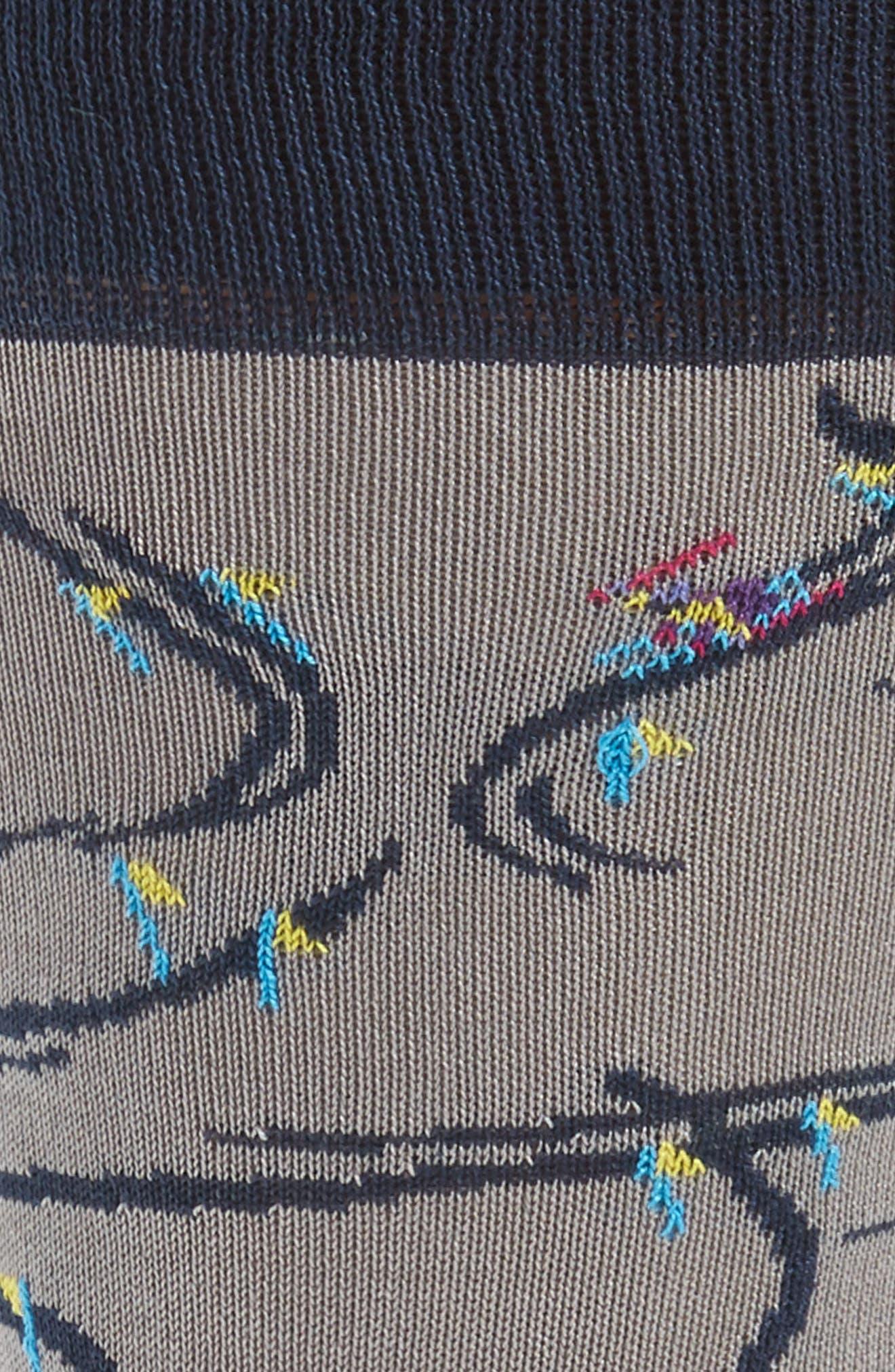 Skier Socks,                             Alternate thumbnail 2, color,                             Clay
