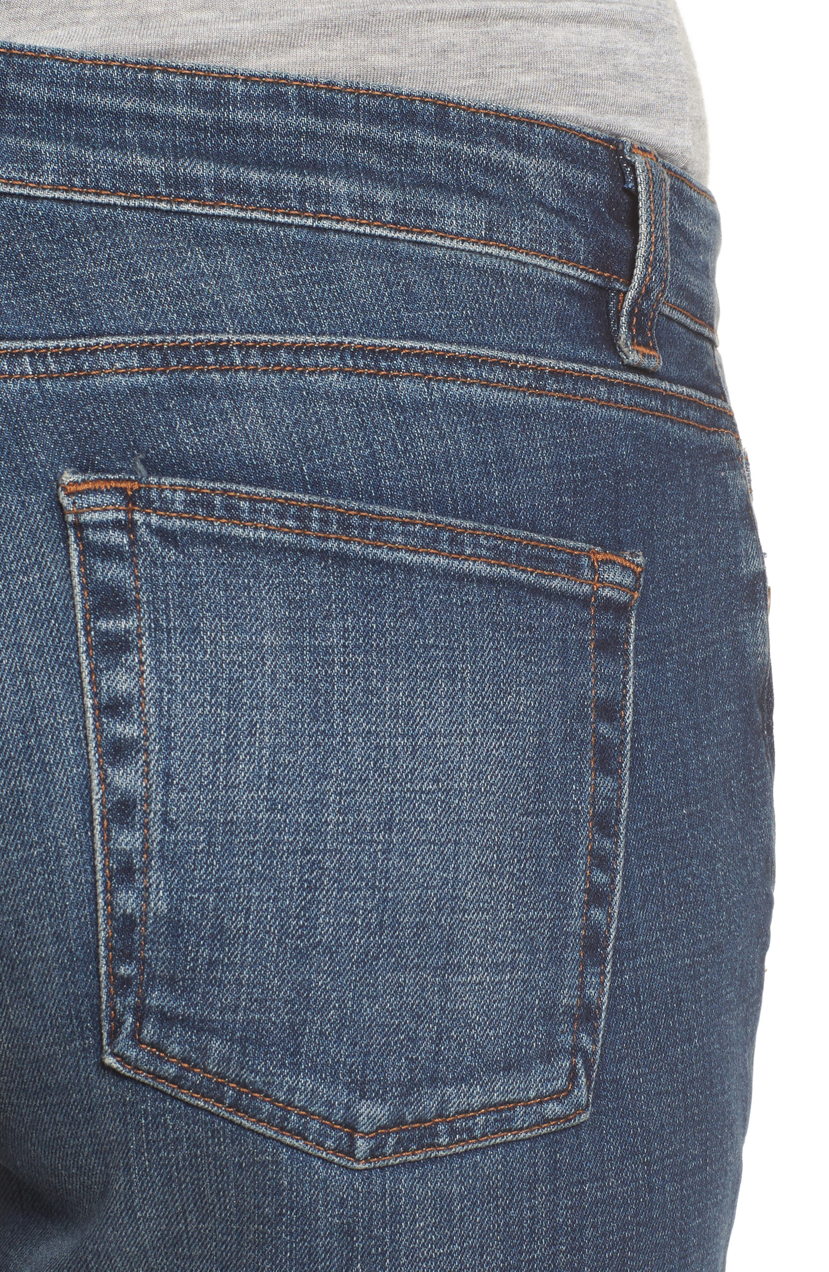 Alternate Image 4  - Eileen Fisher Organic Cotton Boyfriend Jeans (Online Only) (Regular & Petite)
