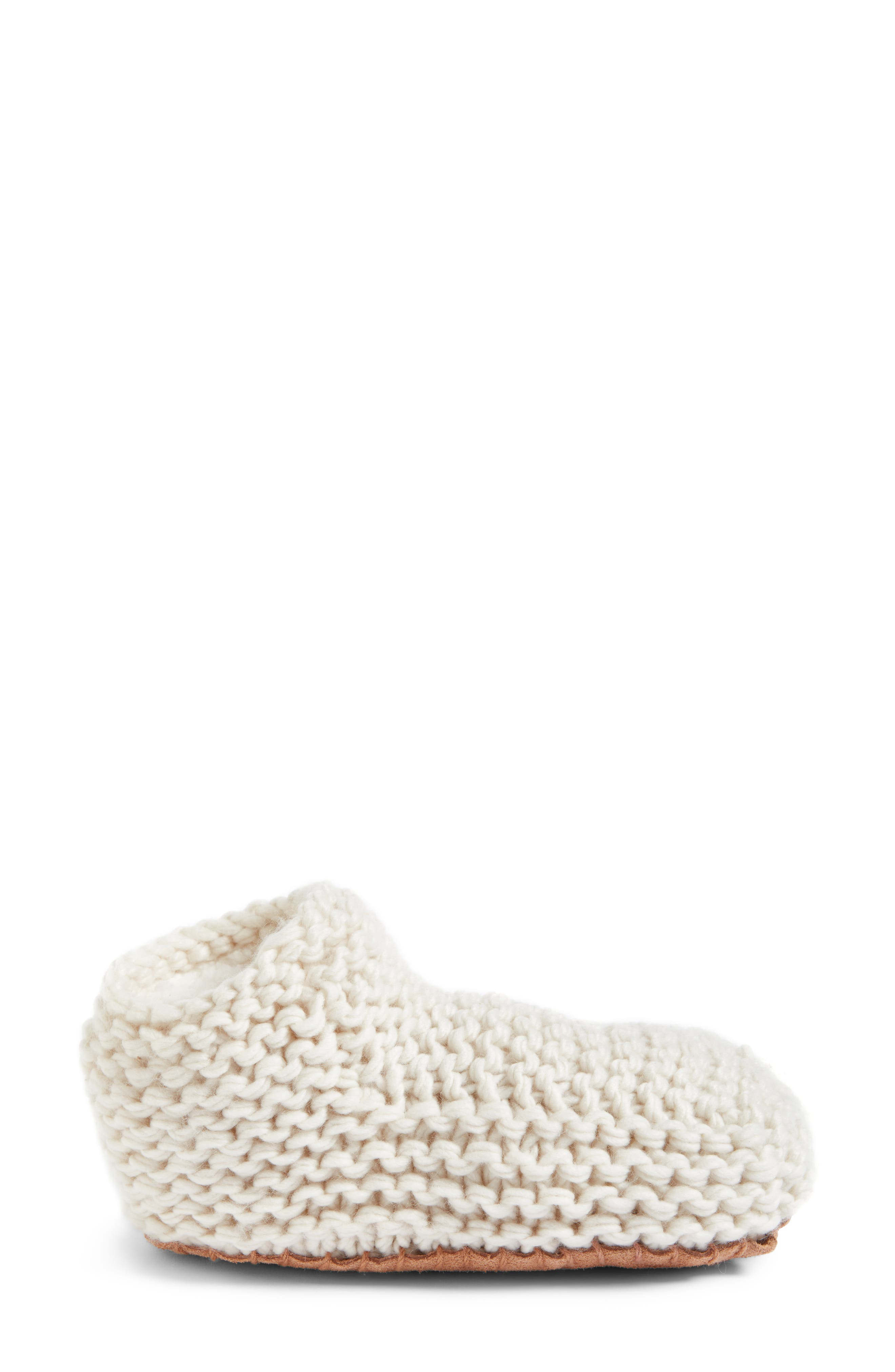 Alternate Image 3  - Lemon Knit Slipper Bootie