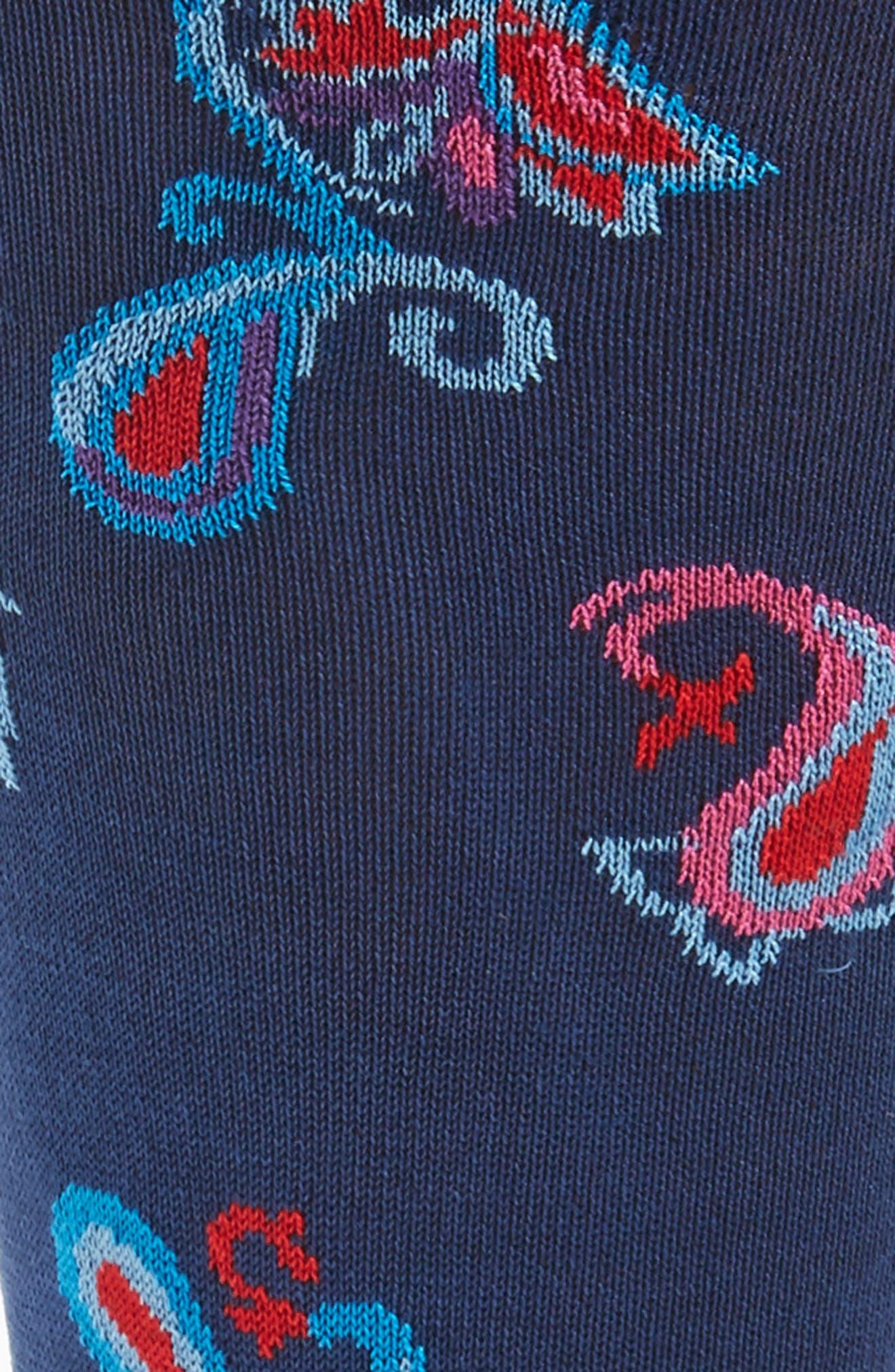 Alternate Image 2  - Bugatchi Paisley Socks