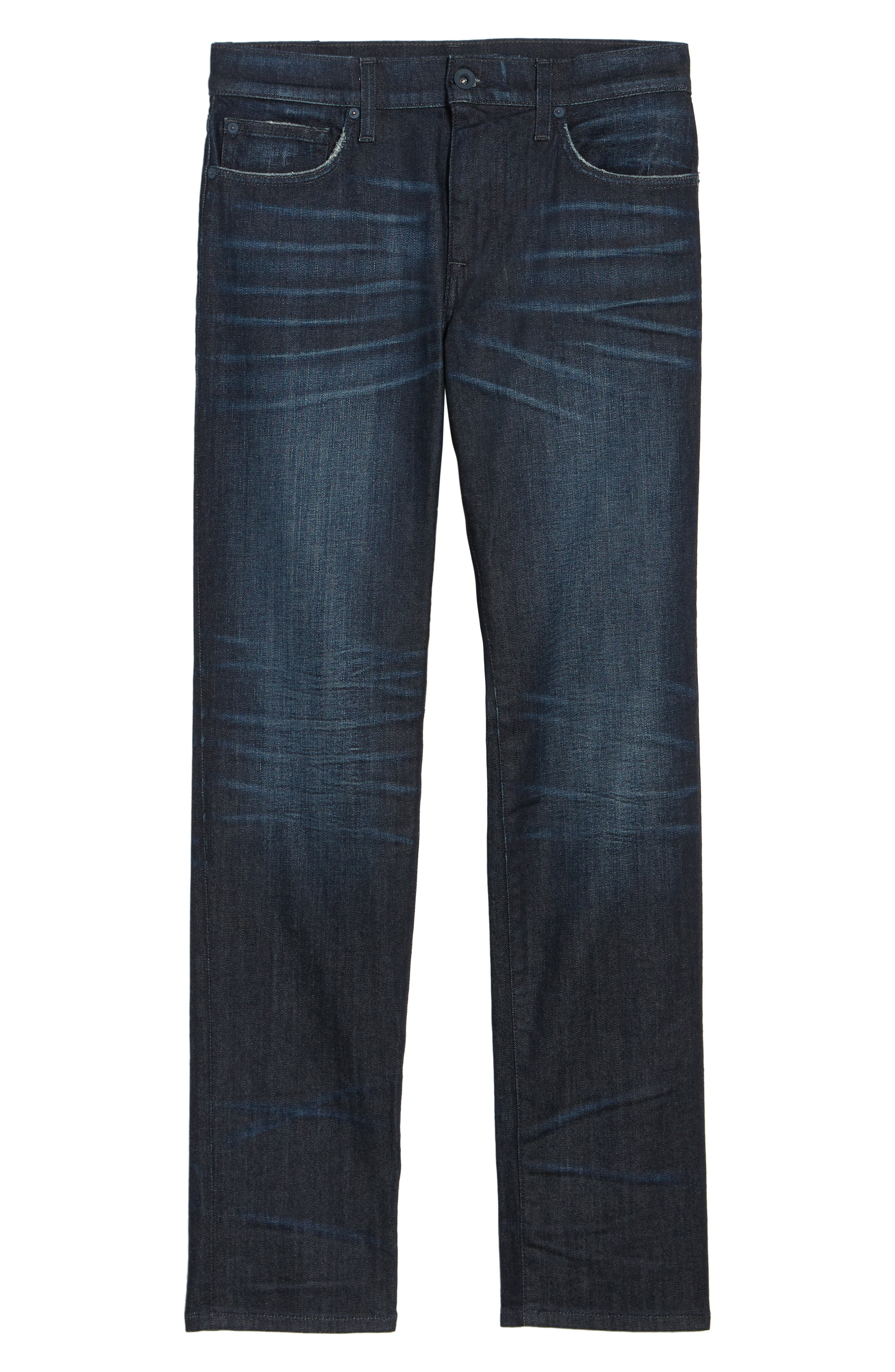 Brixton Slim Straight Fit Jeans,                             Alternate thumbnail 6, color,                             Maag