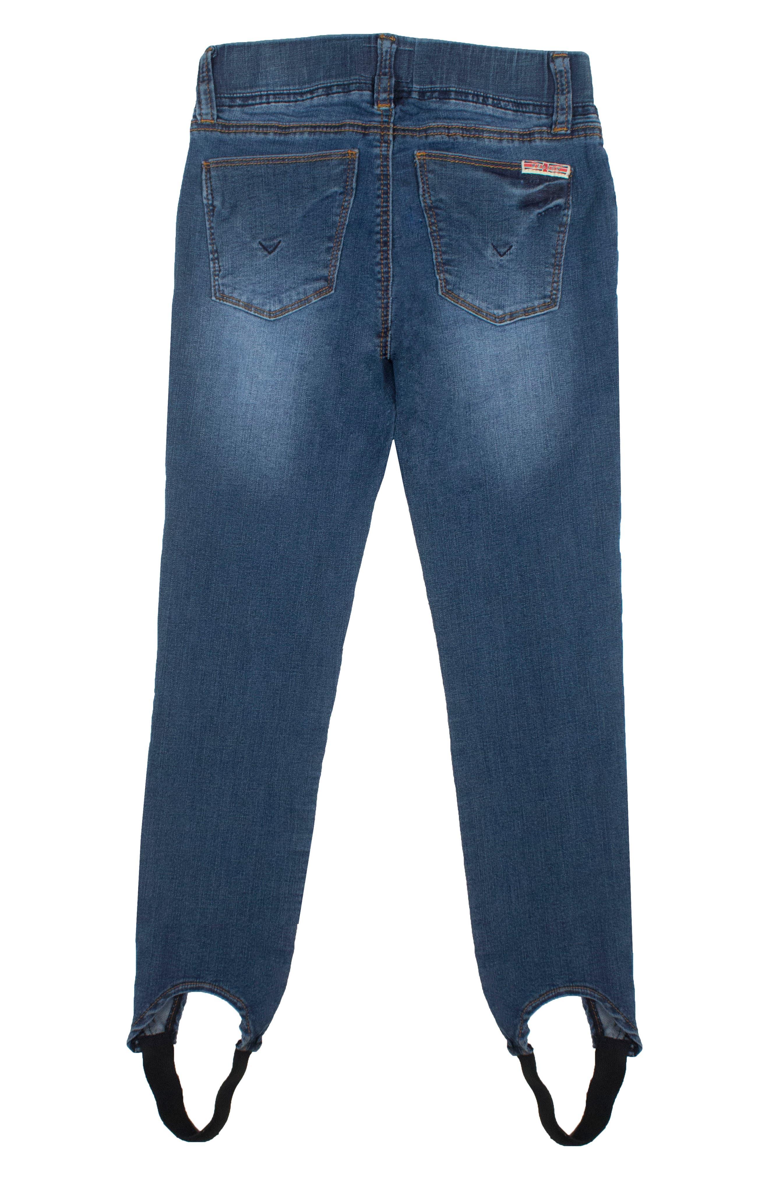Rosa Stirrup Jeans,                             Alternate thumbnail 2, color,                             Naval Blue