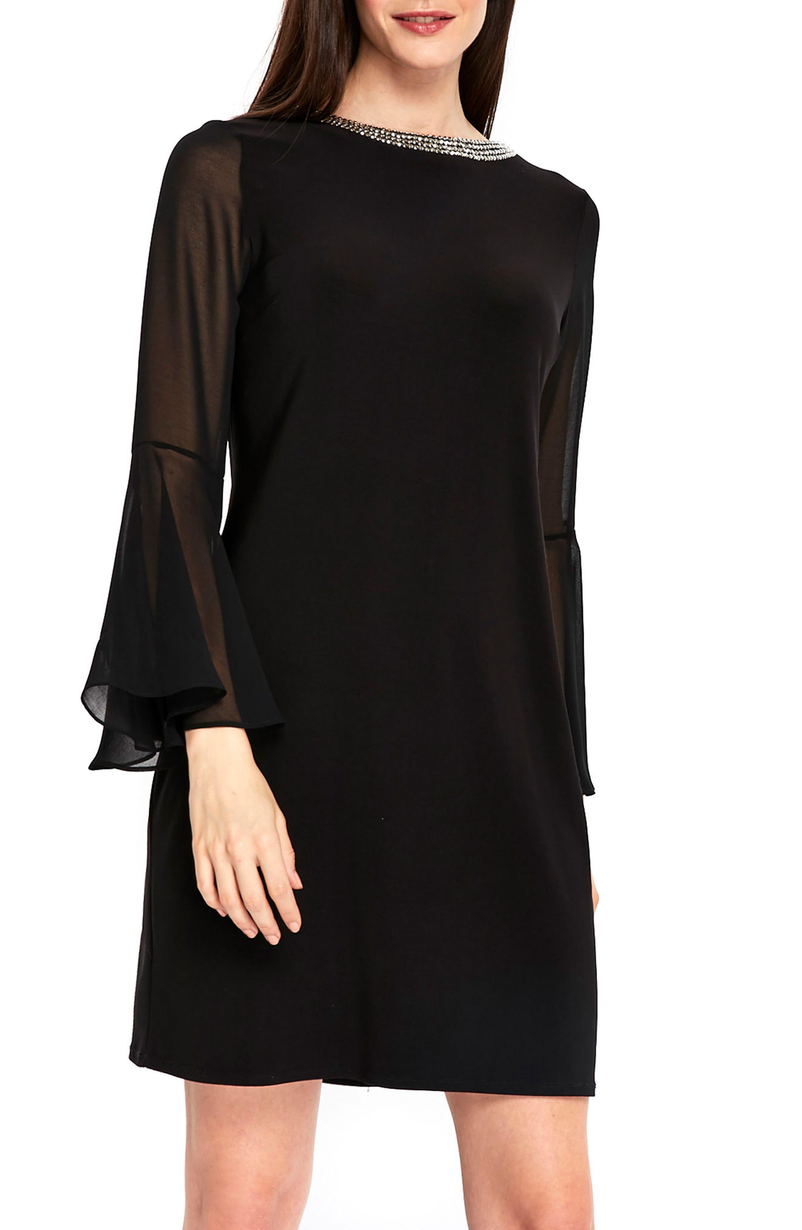 Wallis dress black and white oxford