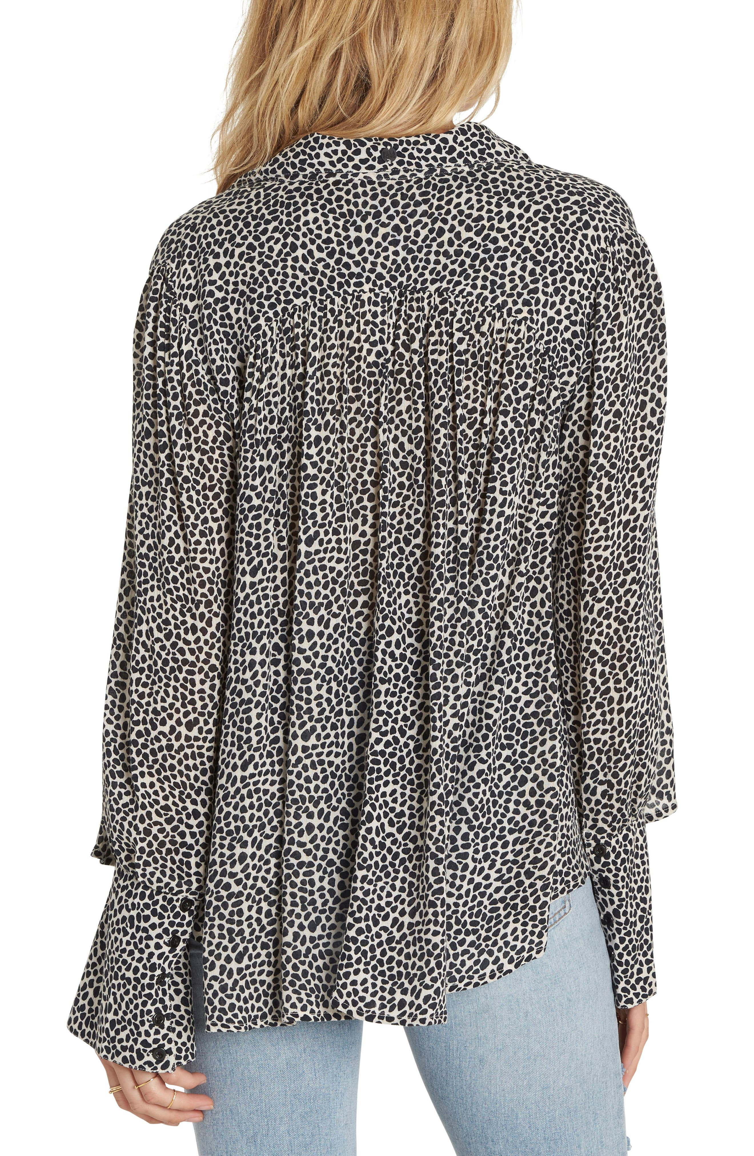 Alternate Image 2  - Billabong Groovy Moves Flare Cuff Top