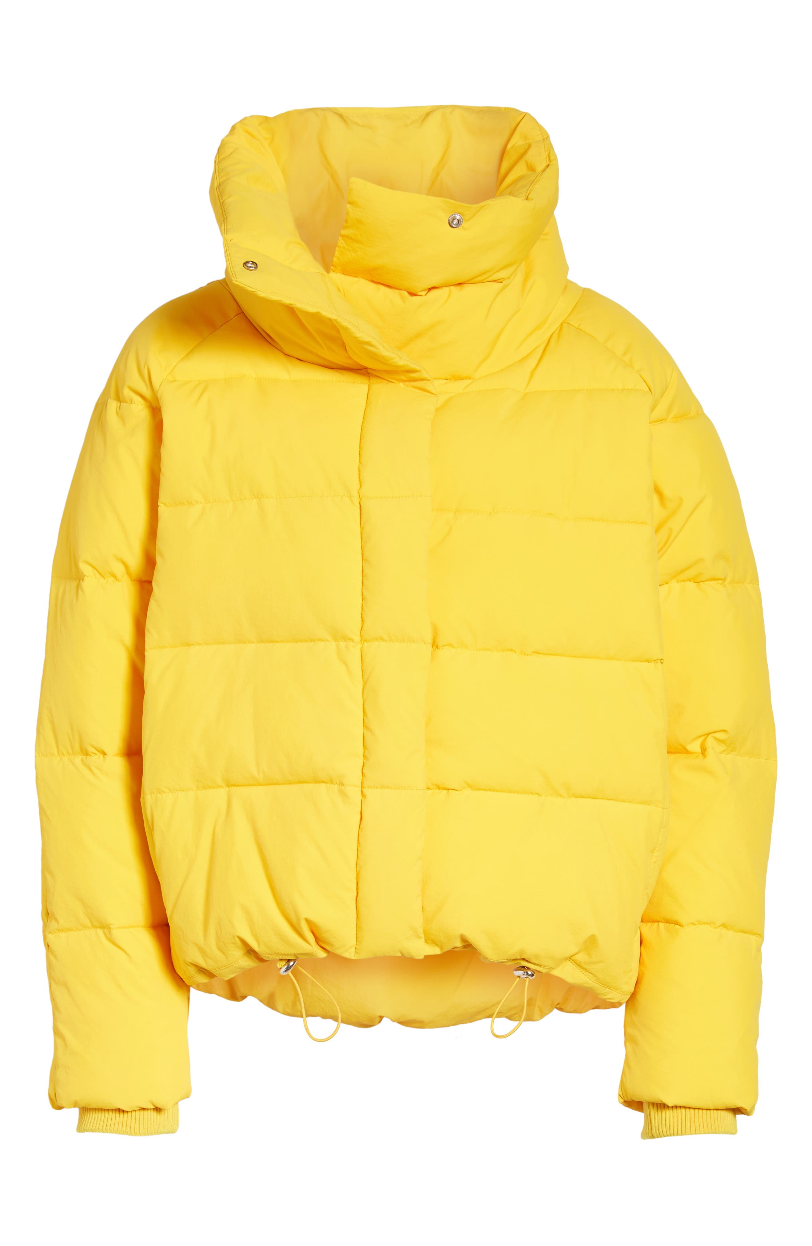 Puffer Coat,                             Alternate thumbnail 7, color,                             Yellow