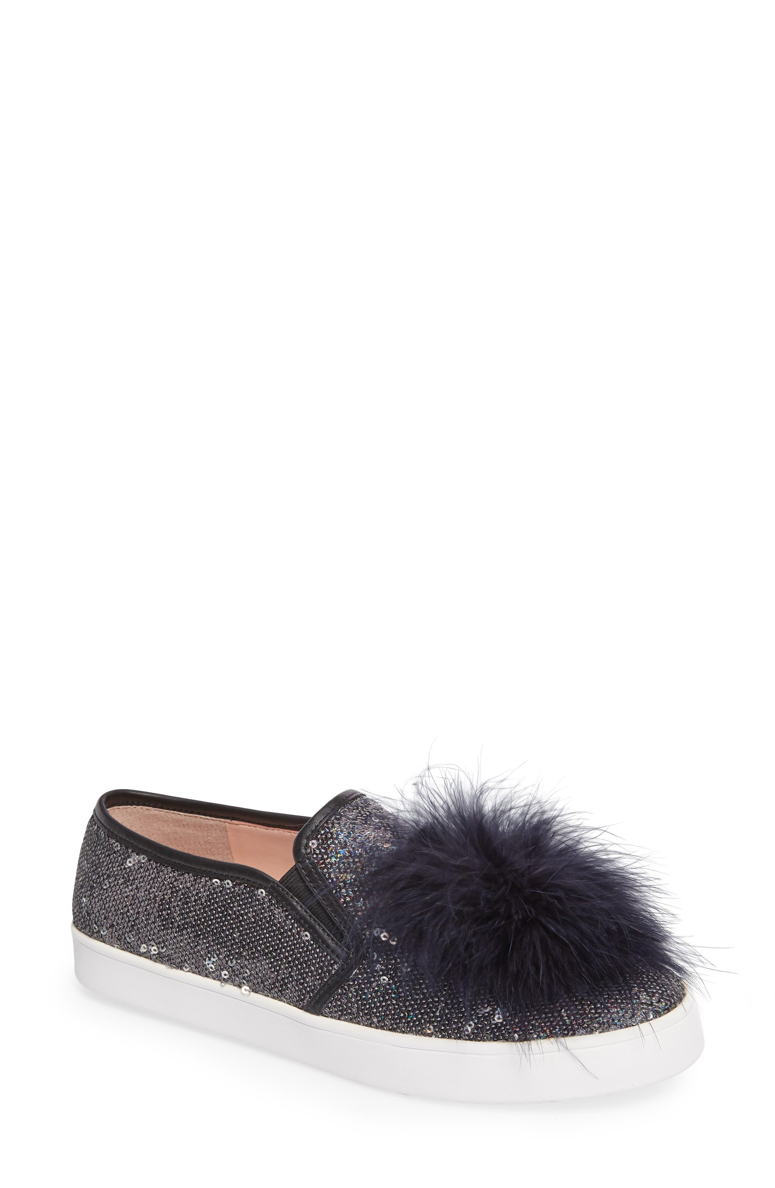 kate spade new york sequin slip-on sneaker (Women)