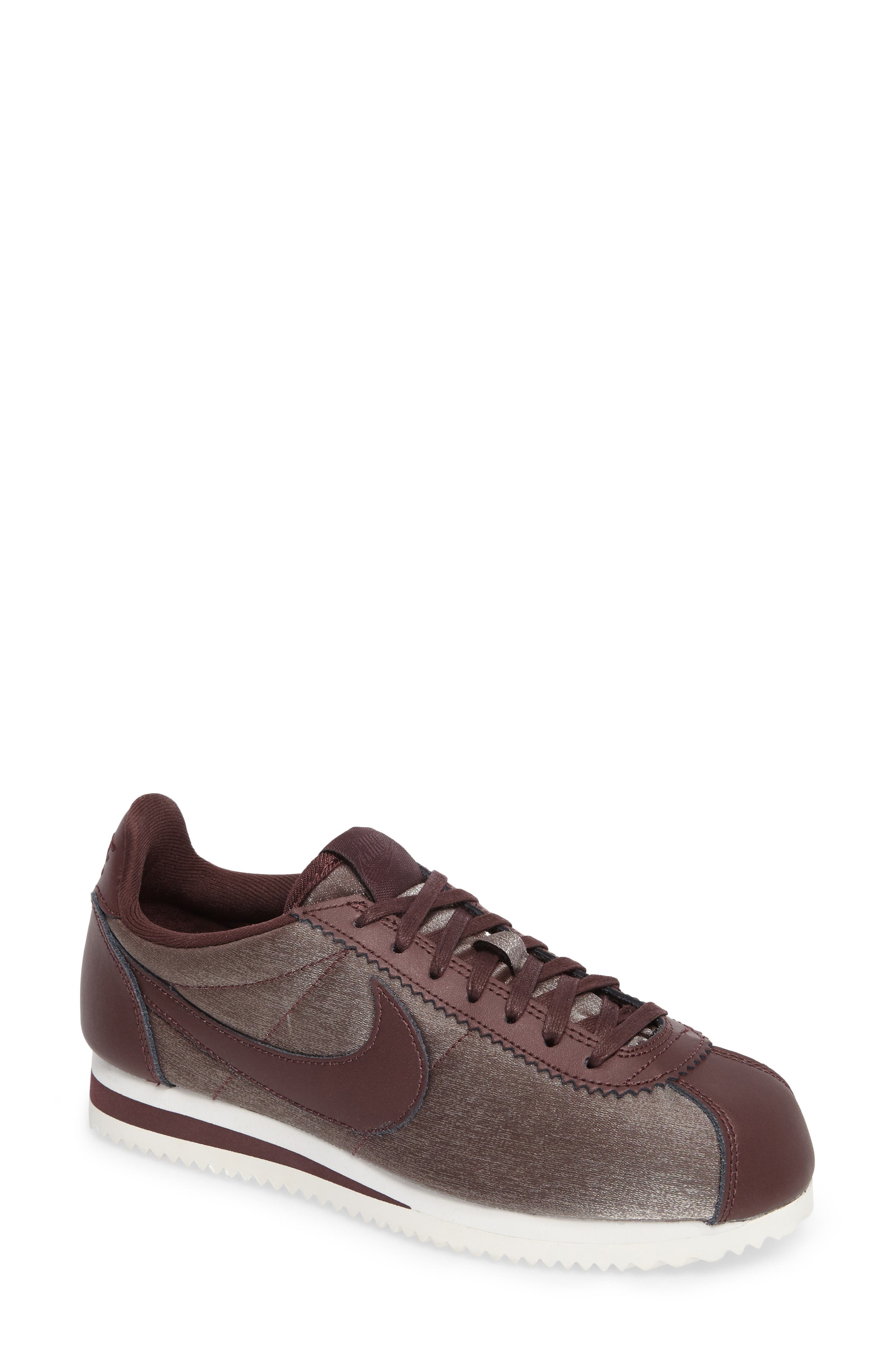 Classic Cortez Premium XLV Sneaker,                             Main thumbnail 1, color,                             Mahogany/ Mahogany/ White