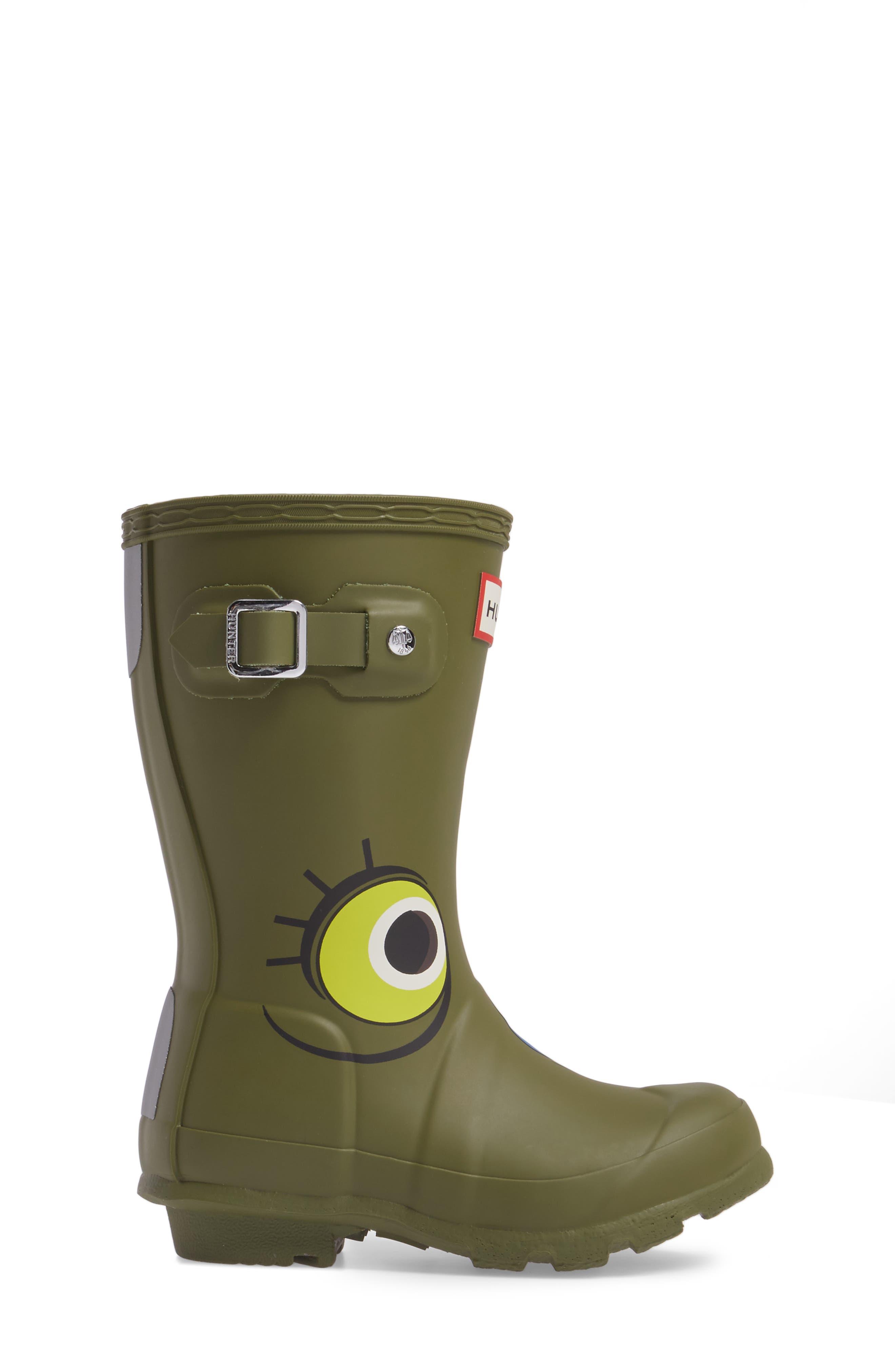 Alternate Image 3  - Hunter Alien Waterproof Rain Boot (Toddler)