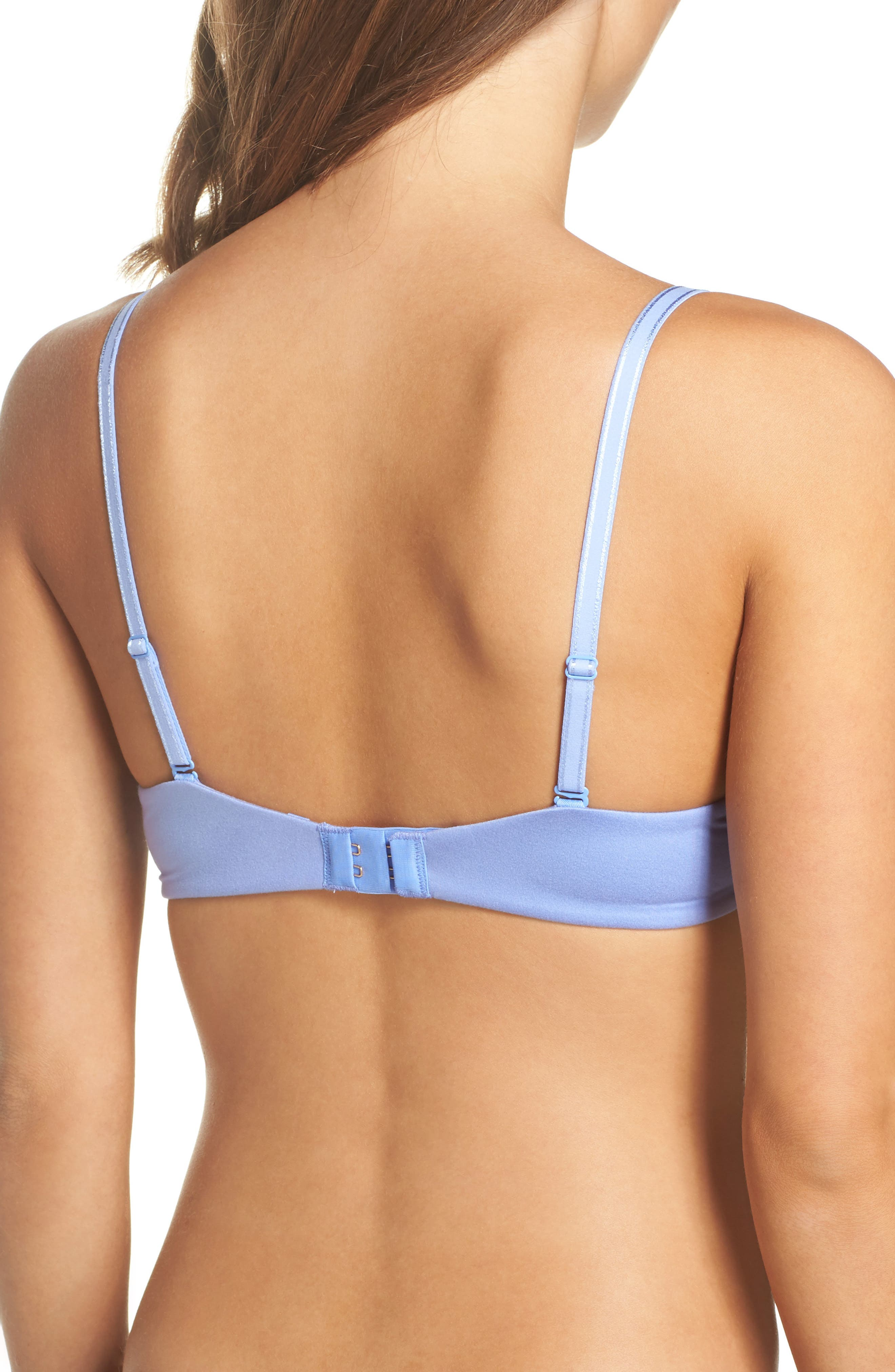 Alternate Image 2  - Betsey Johnson Forever Perfect Convertible Underwire Push-Up Bra