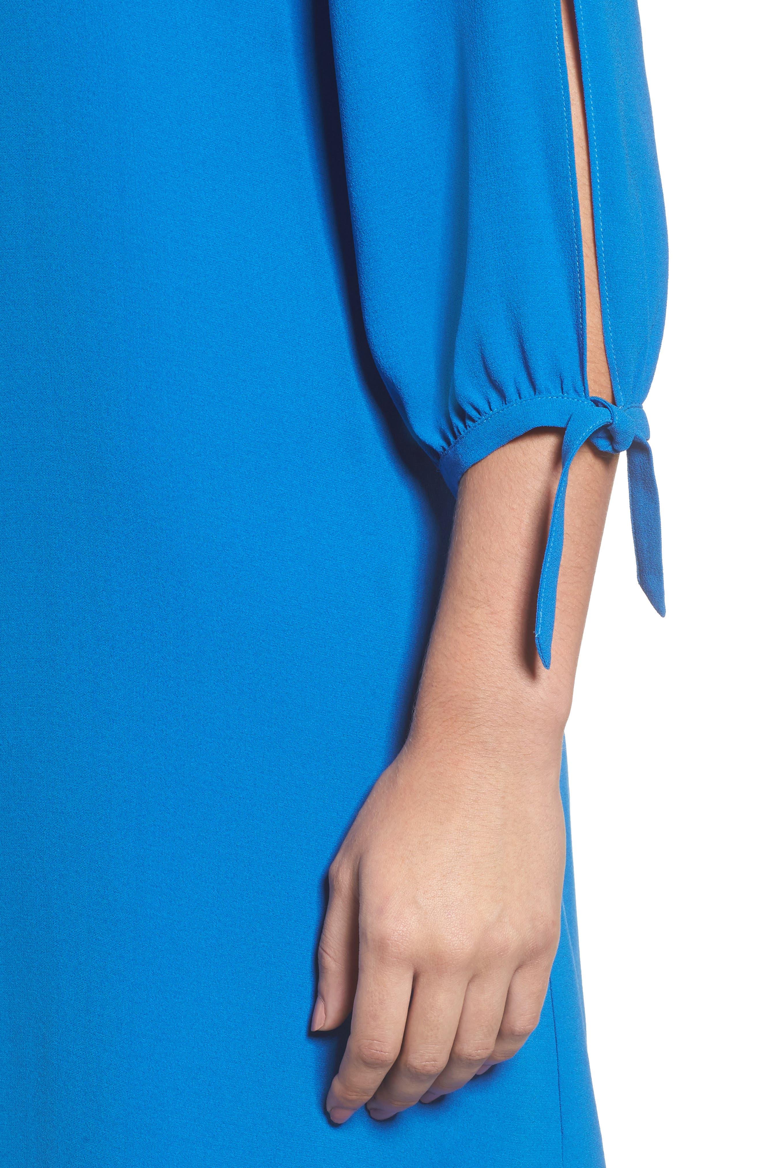 Alternate Image 4  - Eileen Fisher Silk Shift Dress (Regular & Petite)