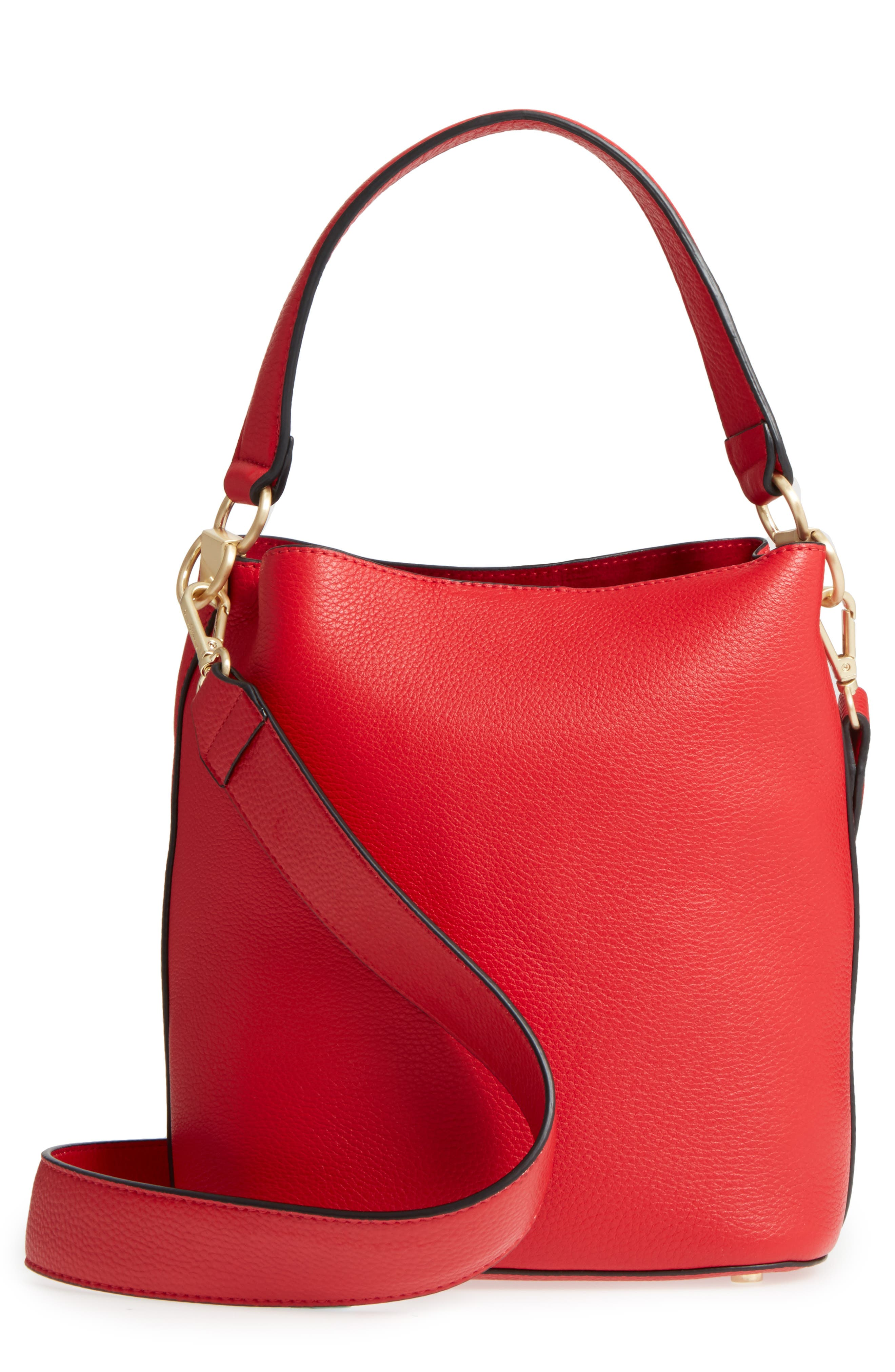 Alternate Image 1 Selected - Sam Edelman Small Nya Faux Leather Bucket Bag