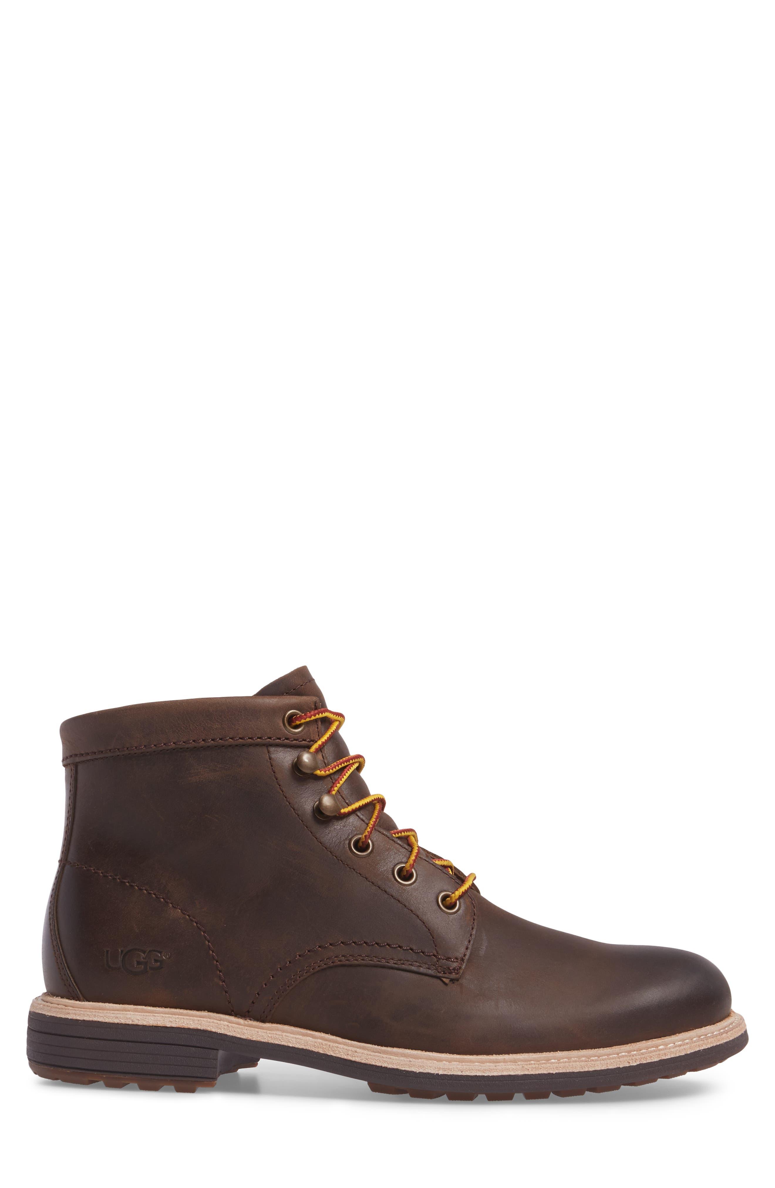 Vestmar Plain Toe Boot,                             Alternate thumbnail 3, color,                             Grizzly