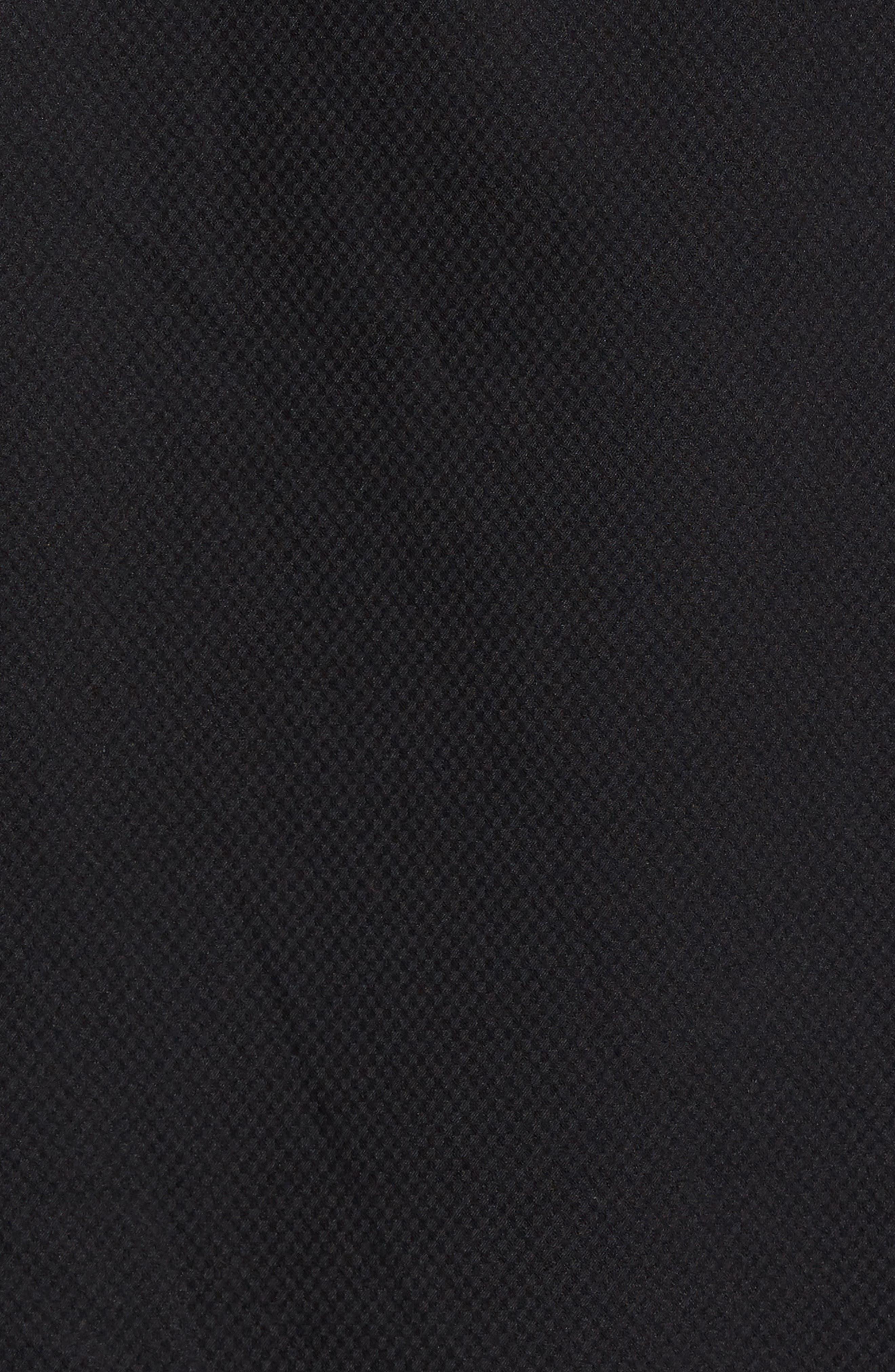 Runnning Flex Short Sleeve Anorak,                             Alternate thumbnail 5, color,                             Black
