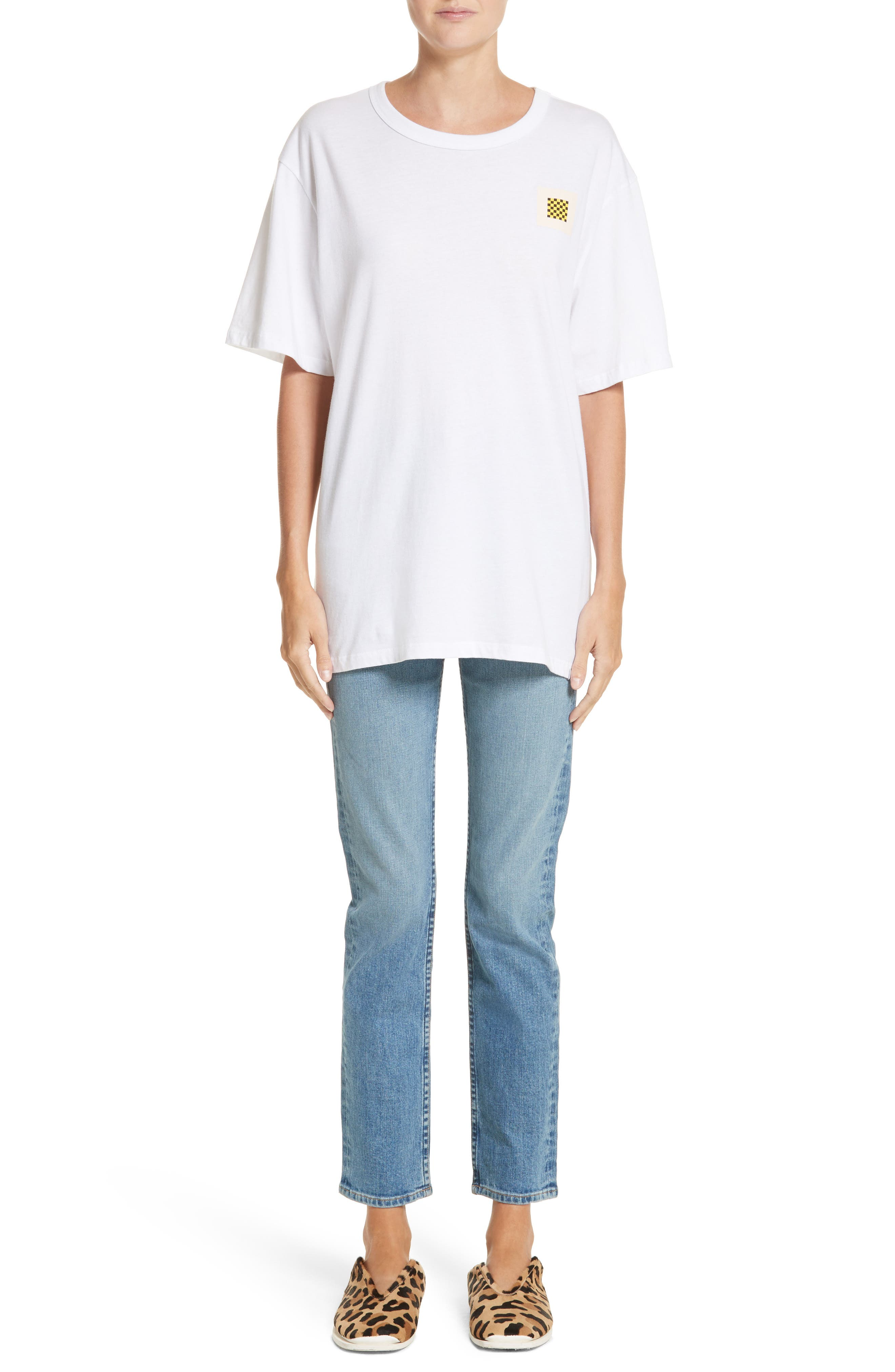 Alternate Image 6  - Proenza Schouler PSWL Straight Leg Jeans