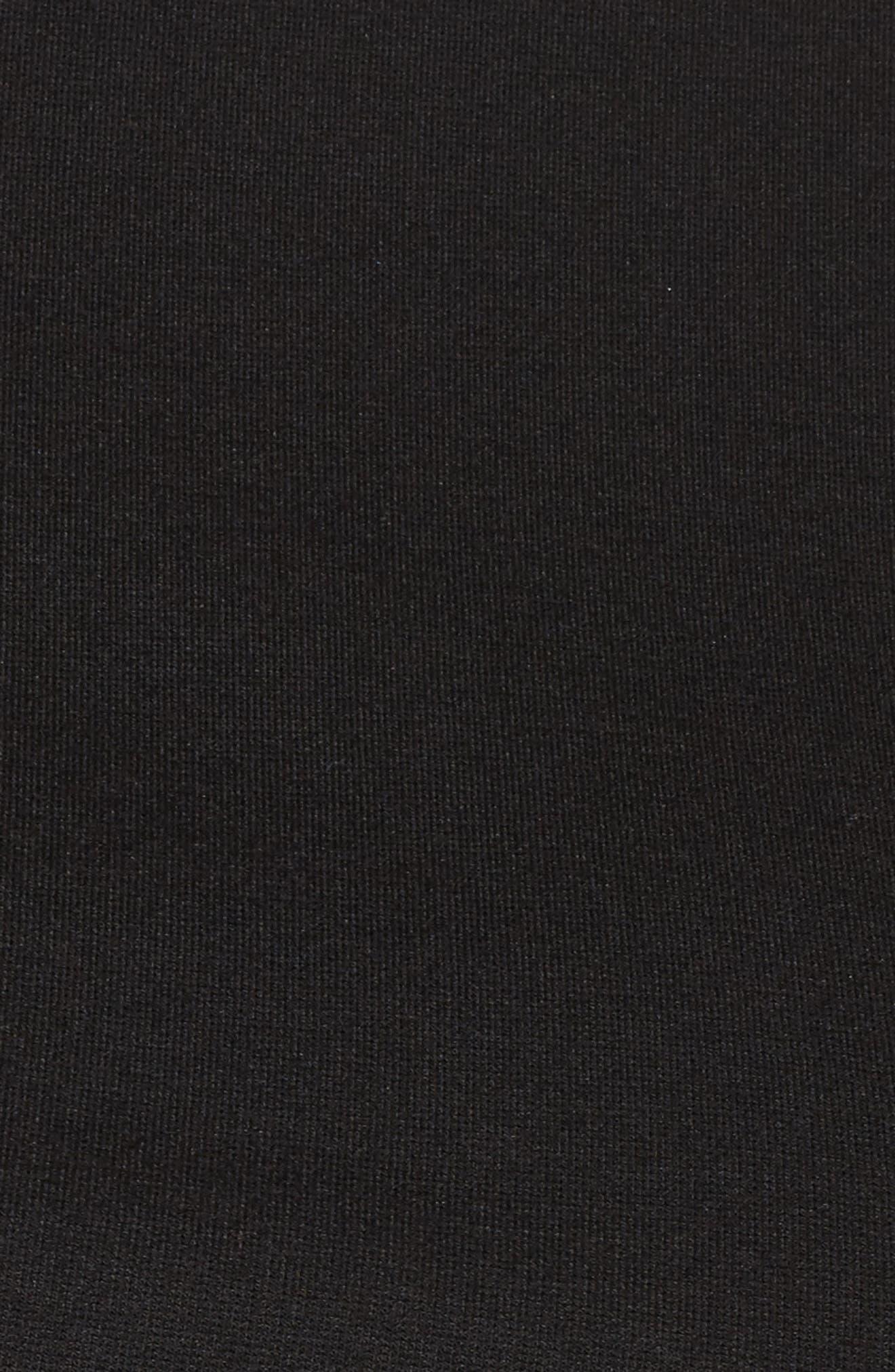 Alternate Image 5  - LOST INK Satin Frill Hem Top (Plus Size)