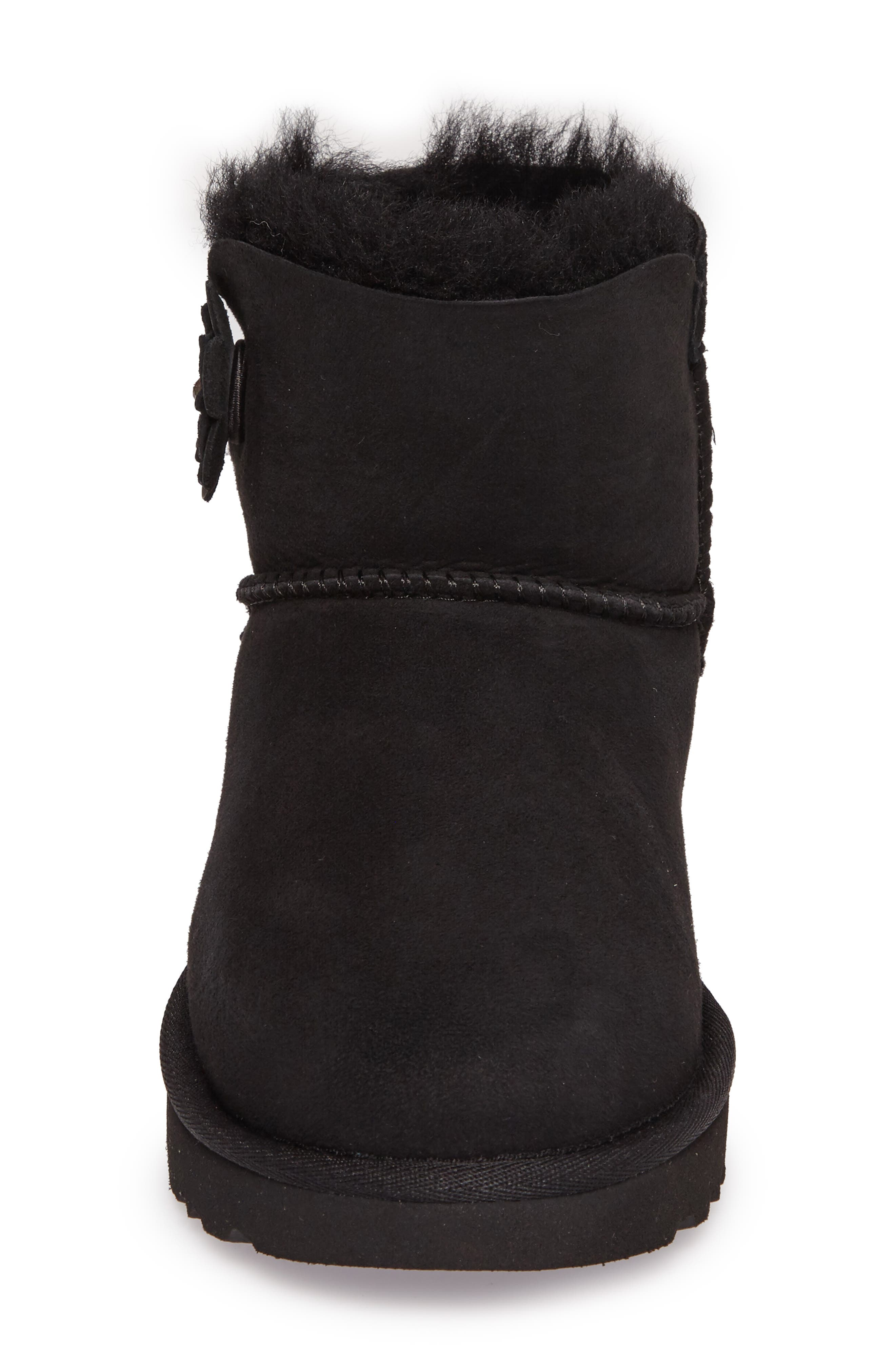 Alternate Image 4  - UGG® Bailey Petal Genuine Shearling Lined Mini Boot (Women)