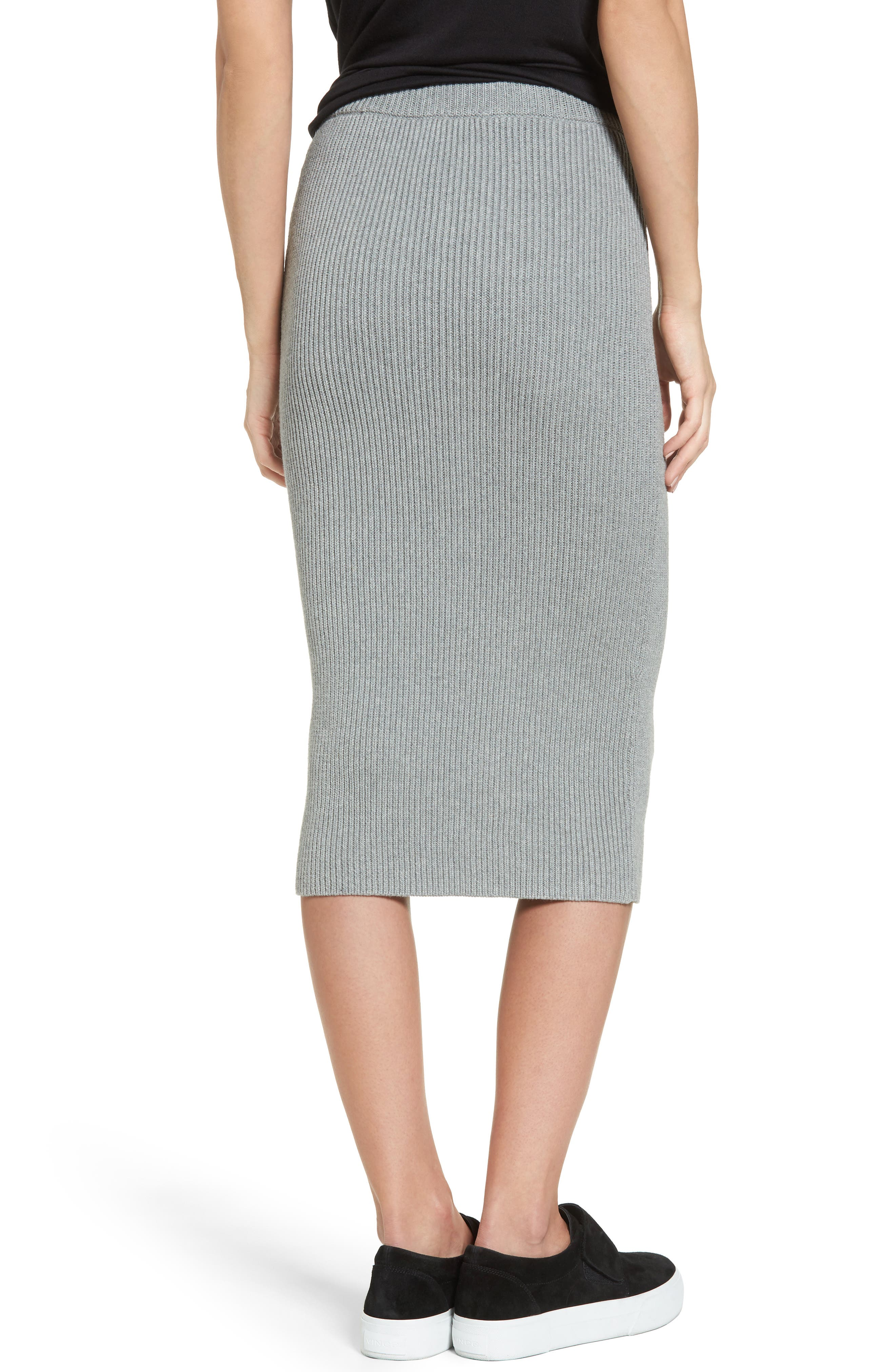 Alternate Image 2  - The Fifth Label Galactic Knit Skirt