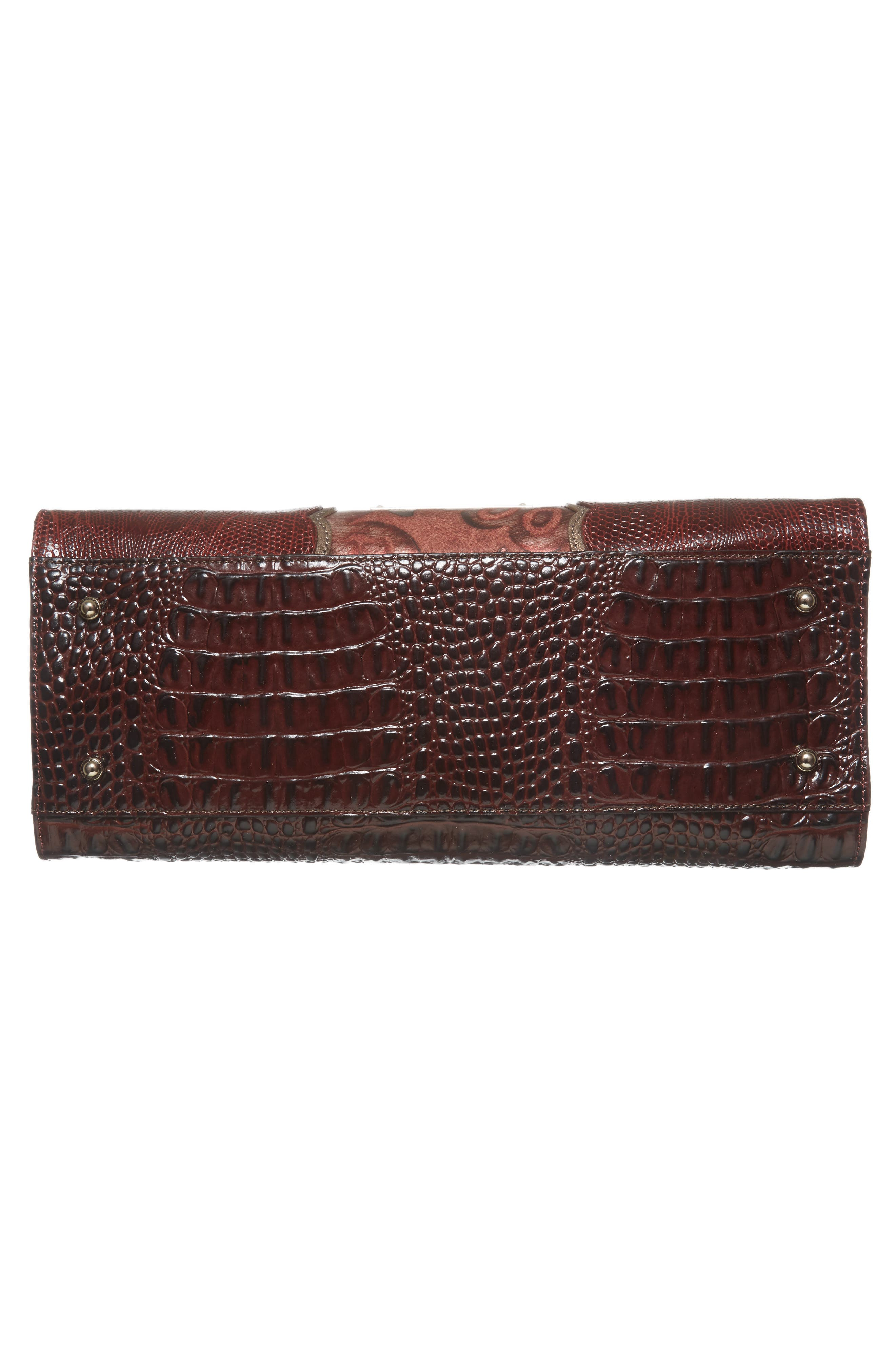 Alternate Image 6  - Brahmin Red Verona - Priscilla Leather Satchel