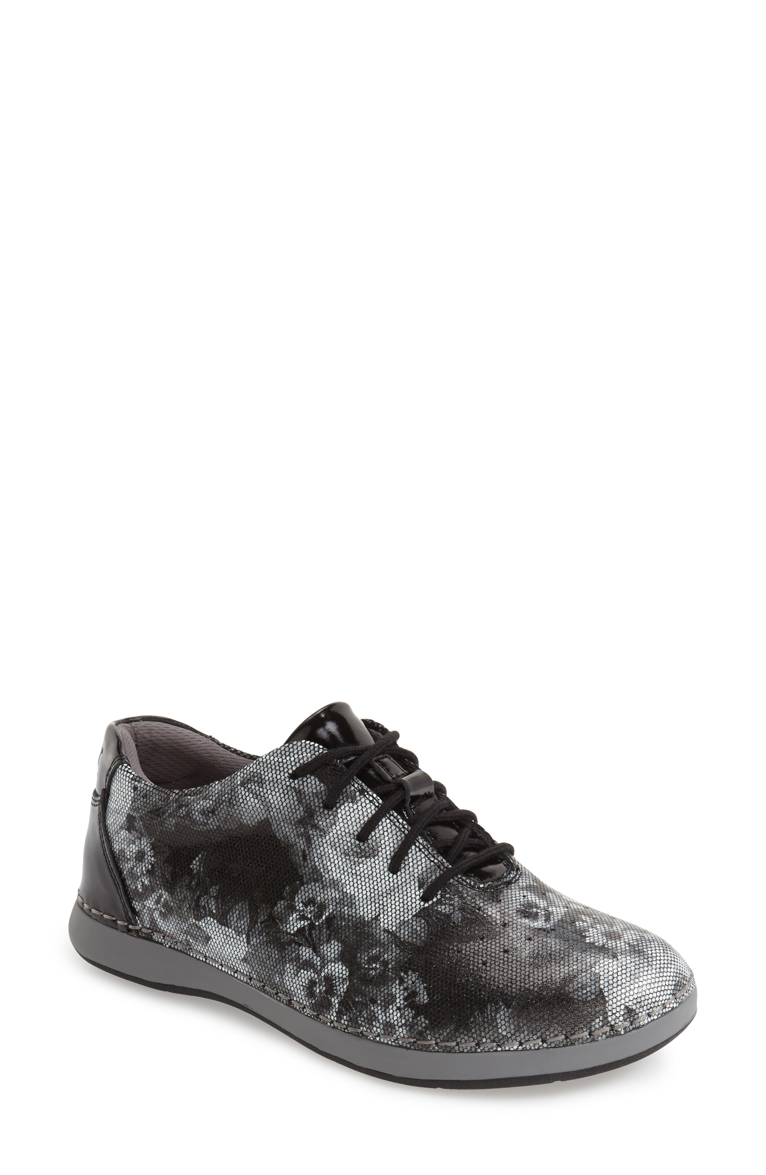 Main Image - Alegria Essence Lace-Up Leather Oxford (Women)