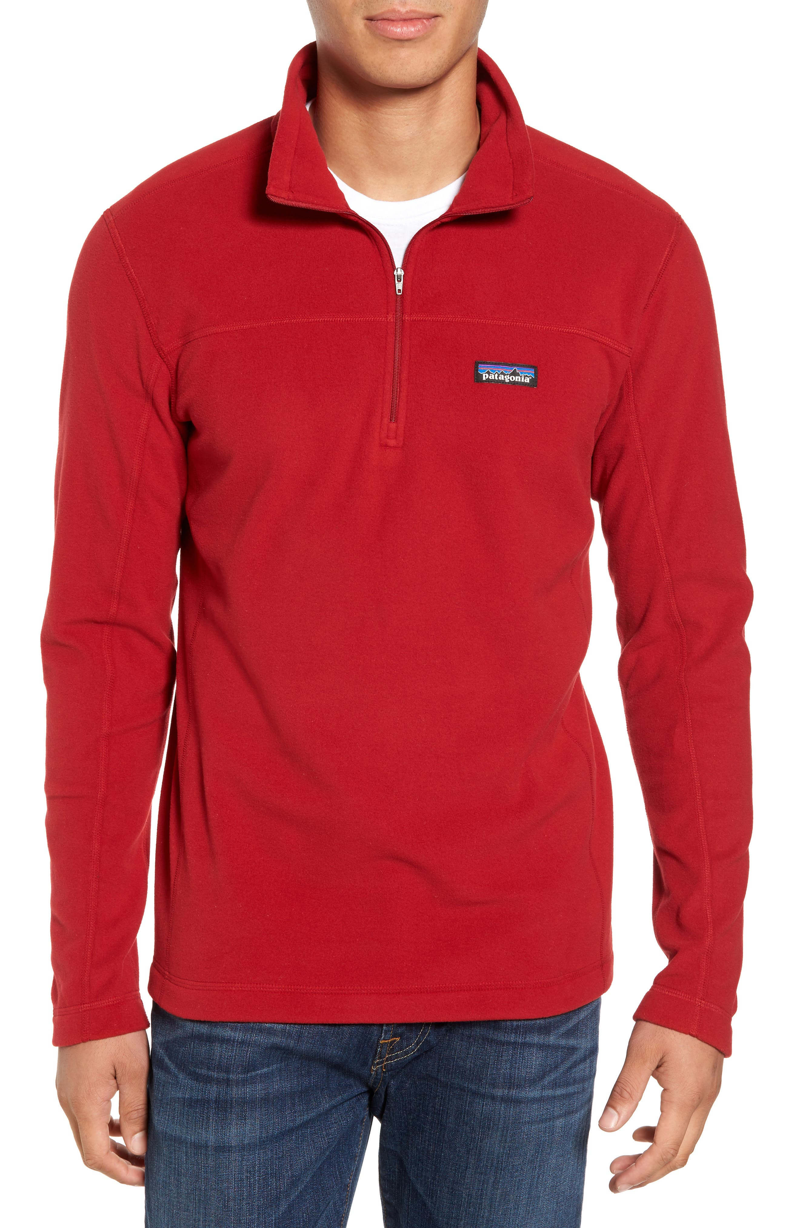 Alternate Image 1 Selected - Patagonia Fleece Pullover